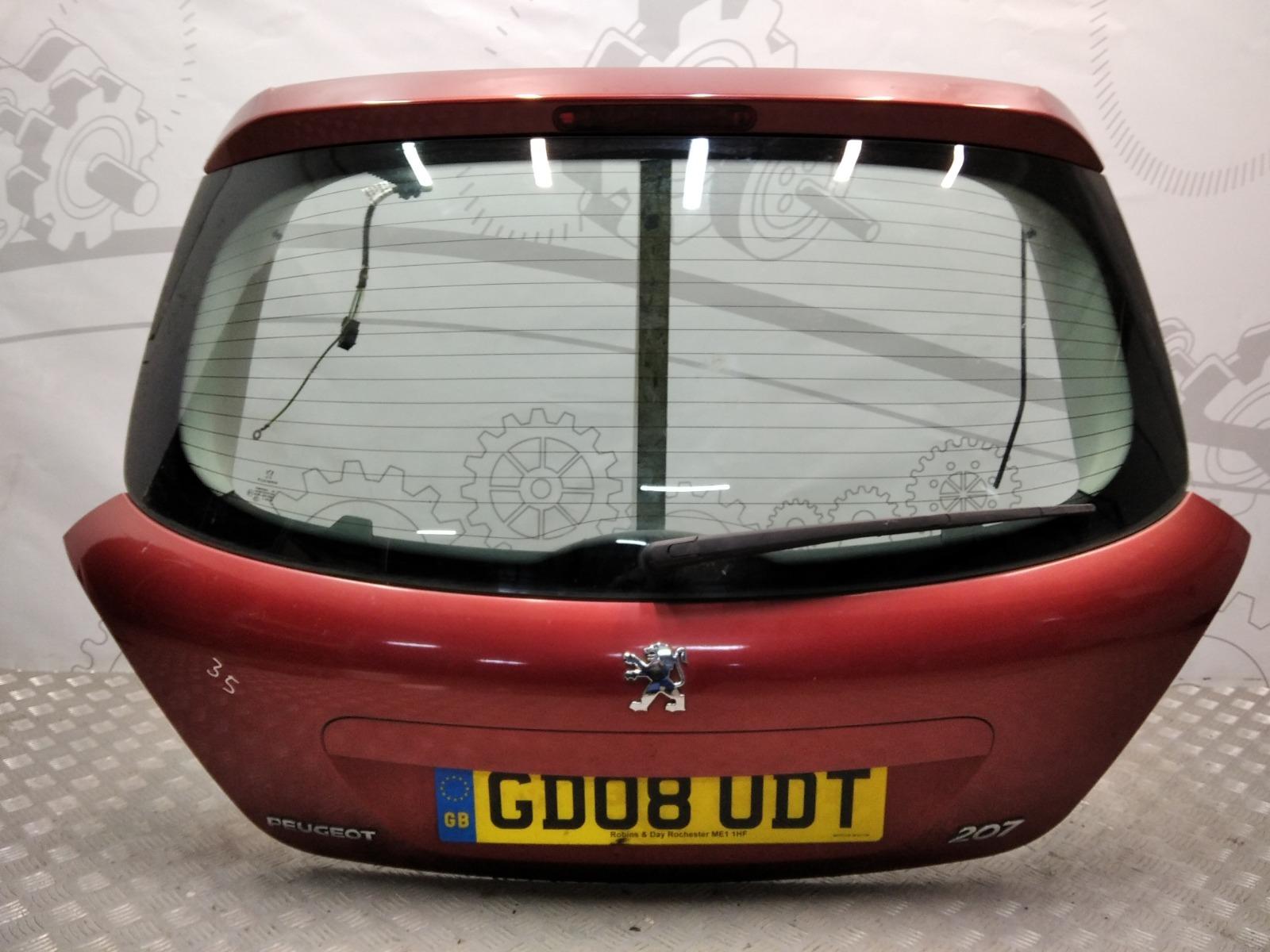 Крышка багажника (дверь 3-5) Peugeot 207 1.4 I 2008 (б/у)