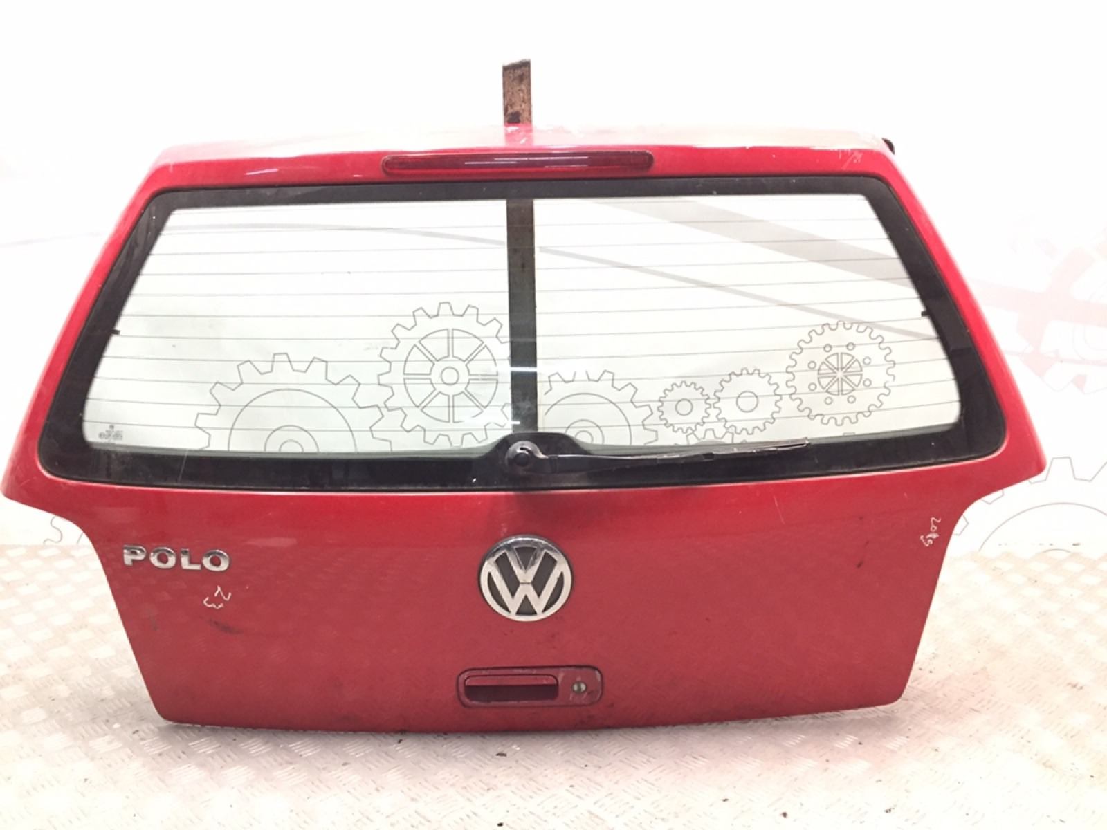 Крышка багажника (дверь 3-5) Volkswagen Polo 1.4 I 2000 (б/у)
