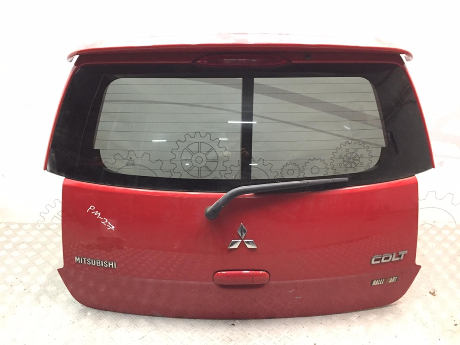 Крышка багажника (дверь 3-5) Mitsubishi Colt 1.5 I 2010 (б/у)
