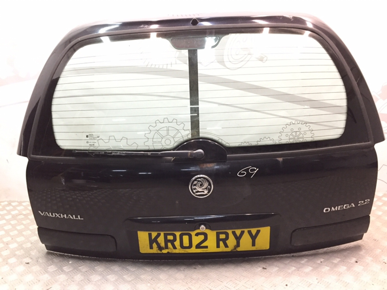 Крышка багажника (дверь 3-5) Opel Omega B 2.2 I 2002 (б/у)