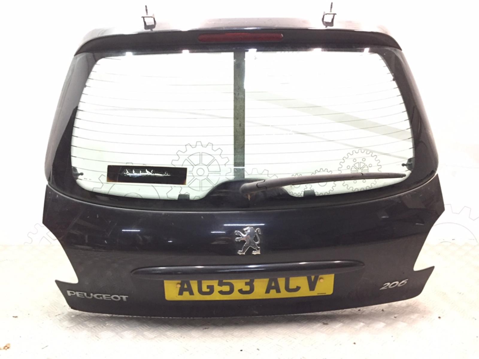 Крышка багажника (дверь 3-5) Peugeot 206 1.4 I 2003 (б/у)
