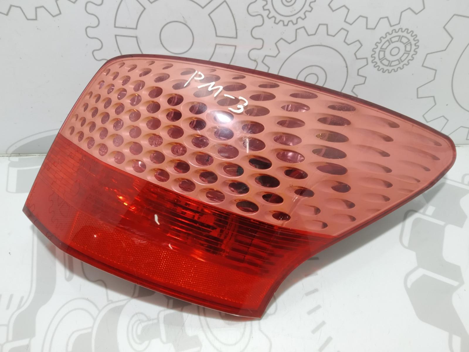 Фонарь задний правый Peugeot 407 2.0 HDI 2010 (б/у)