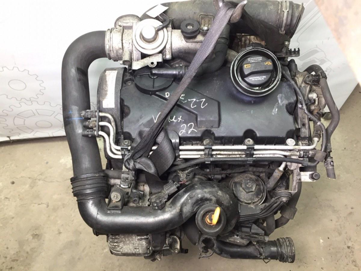 Двигатель дизельный Volkswagen Passat B6 1.9 TDI 2007 (б/у)