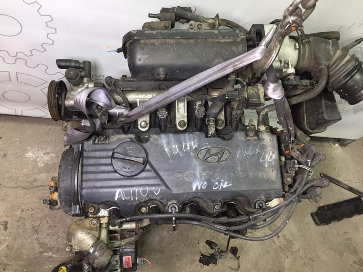 Двигатель бензиновый Hyundai Accent LC 1.5 I 2000 (б/у)