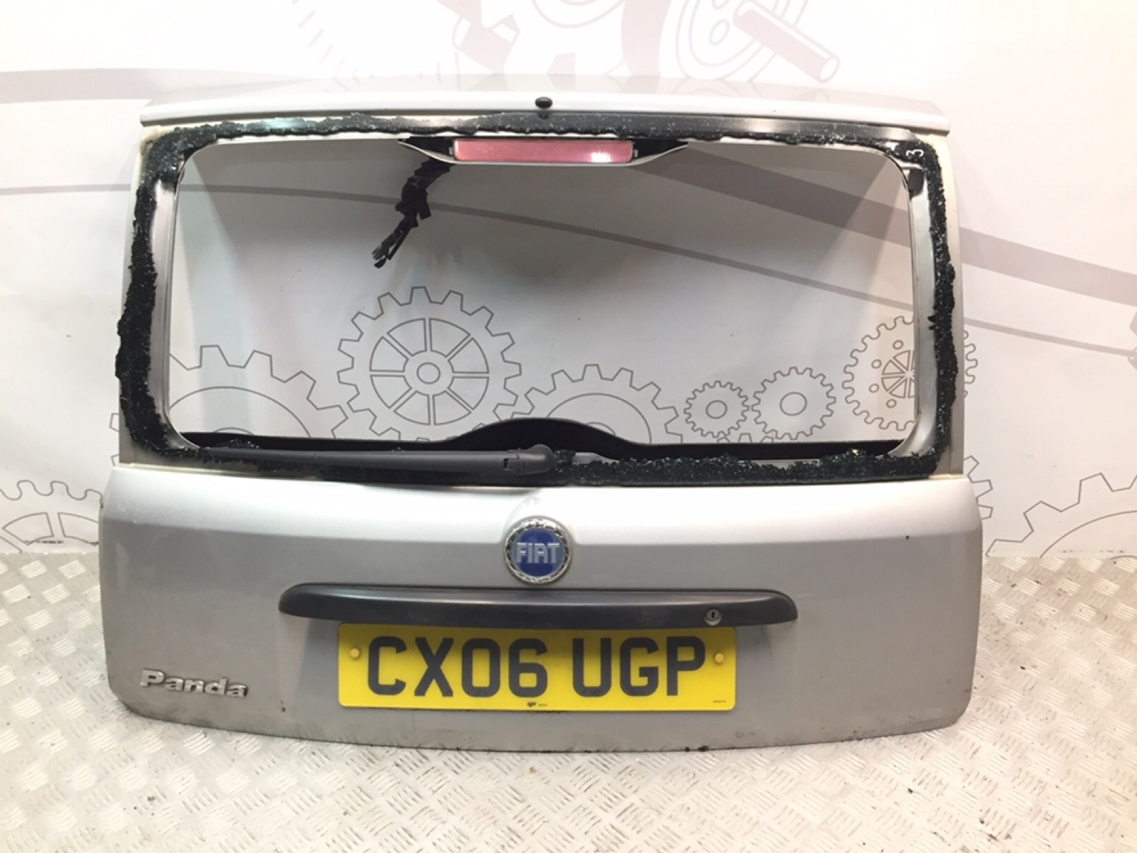 Крышка багажника Fiat Panda 1.1 I 2006 (б/у)