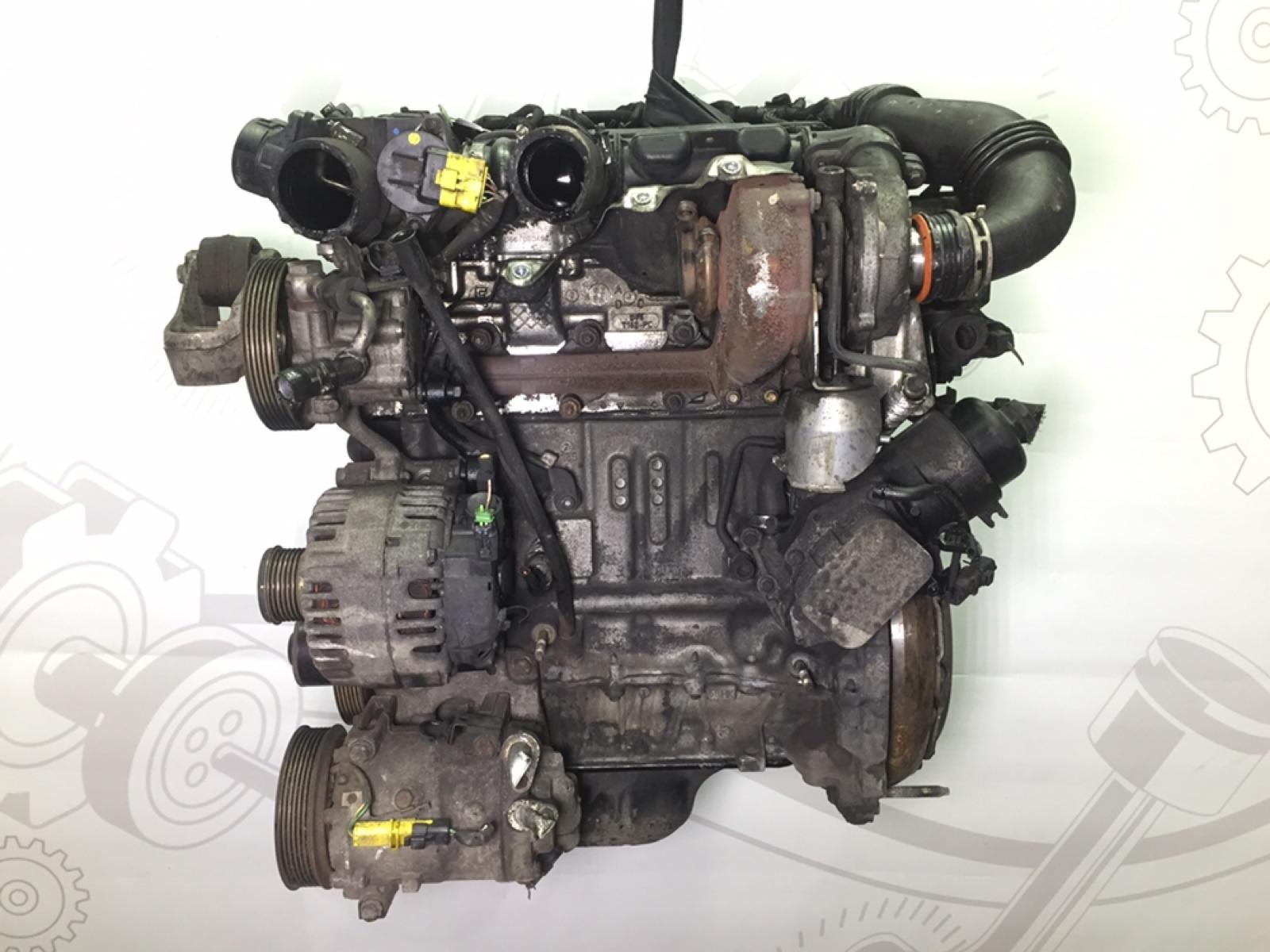 Двигатель Peugeot 407 1.6 HDI 2005 (б/у)