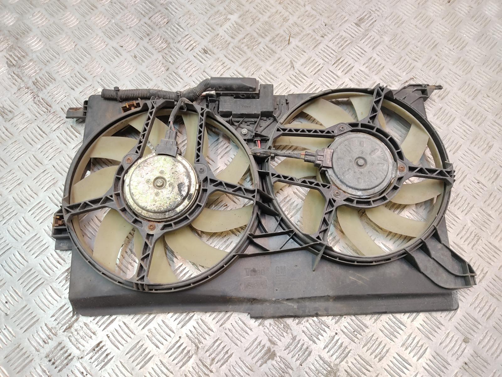 Вентилятор радиатора Saab 9-3 1.9 TID 2005 (б/у)