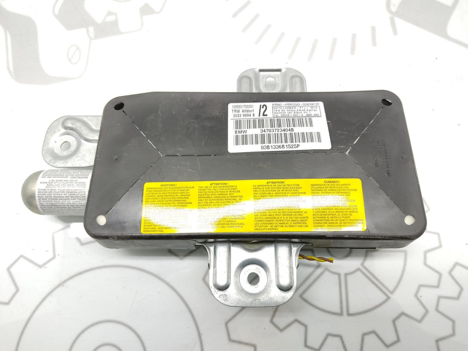 Подушка безопасности боковая (в дверь) Bmw 3 E46 2.0 I 2003 (б/у)