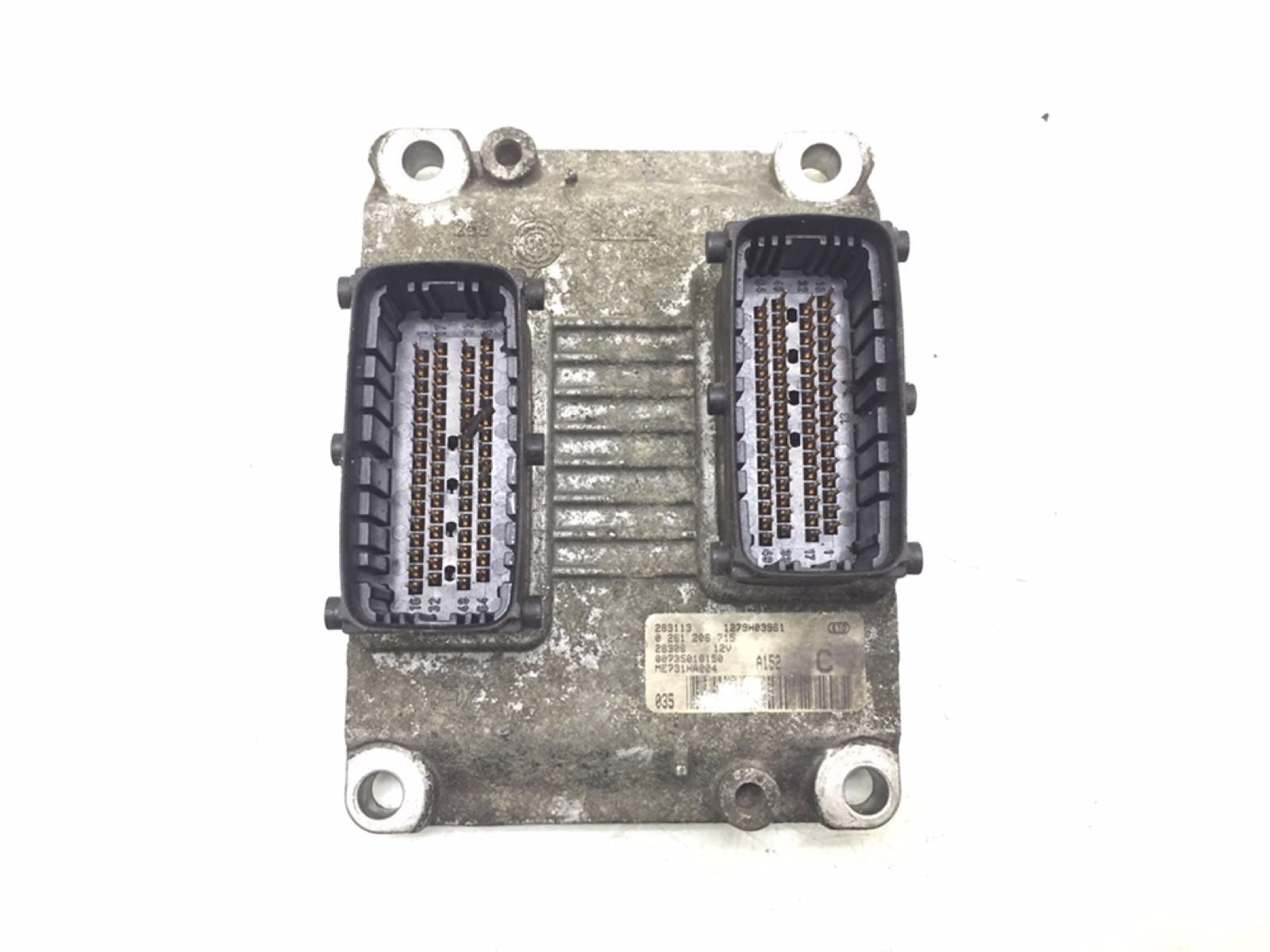 Блок управления двигателем Alfa Romeo 147 1.6 I 2002 (б/у)