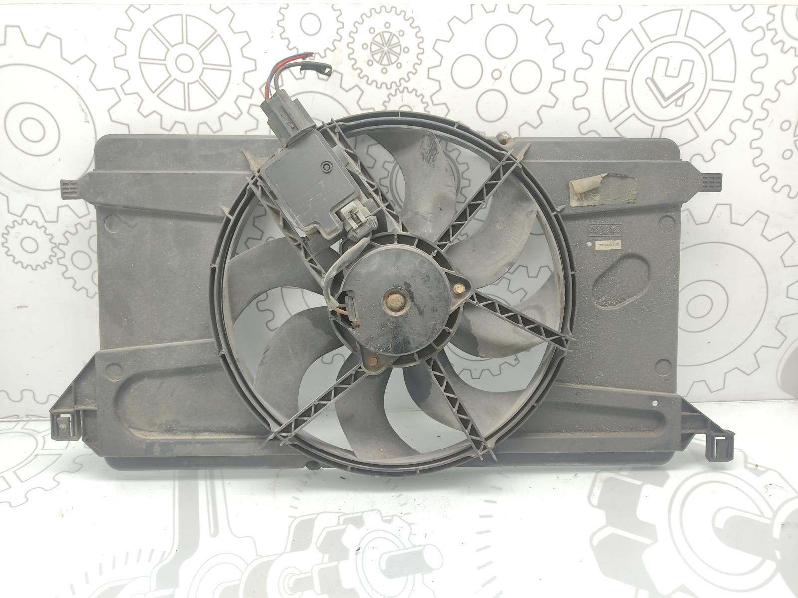 Вентилятор радиатора Ford Focus 1.6 I 2006 (б/у)