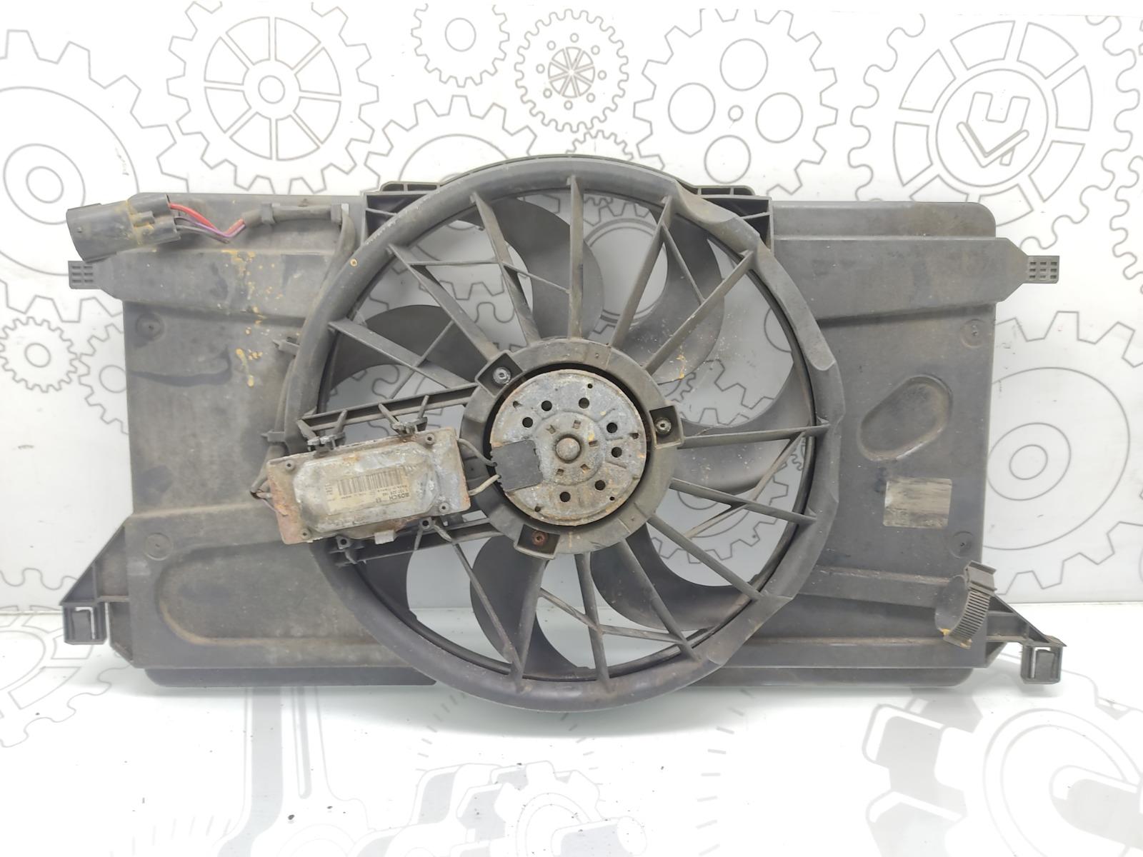 Вентилятор радиатора Volvo V50 2.0 TD 2005 (б/у)