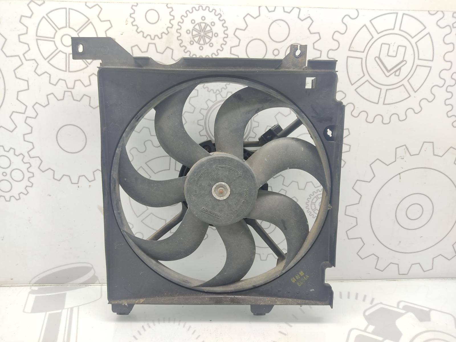 Вентилятор радиатора Kia Cerato 1.5 CRDI 2006 (б/у)