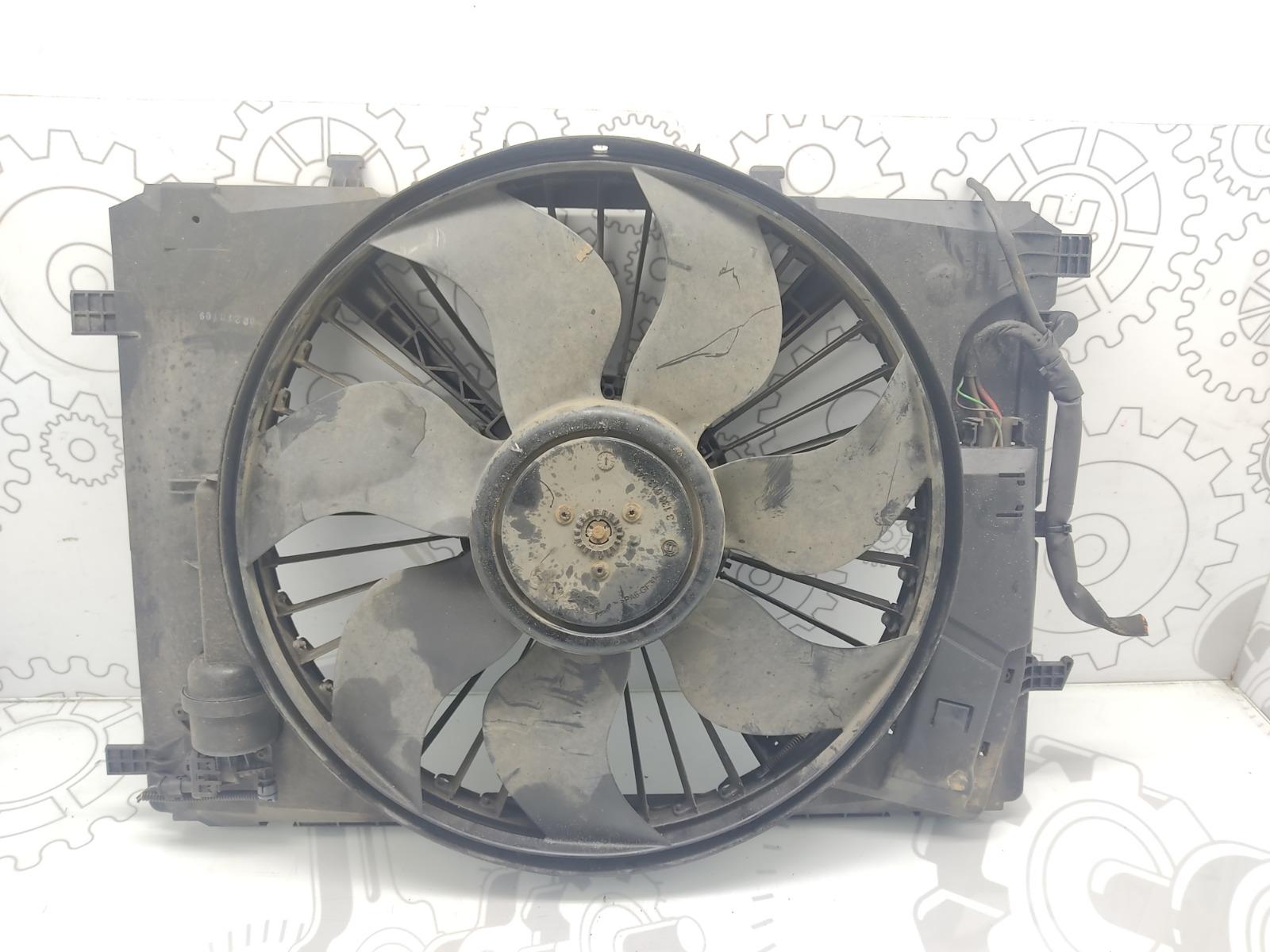 Вентилятор радиатора Mercedes C W204 2.2 CDI 2010 (б/у)