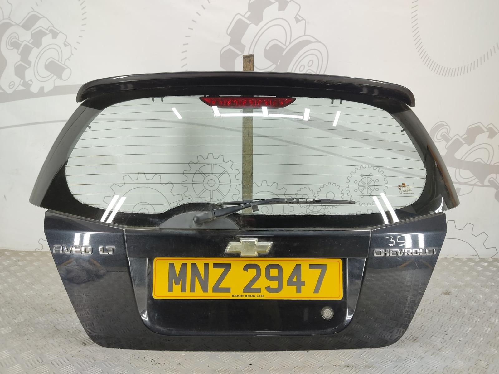 Крышка багажника (дверь 3-5) Chevrolet Aveo T250 1.4 I 2008 (б/у)