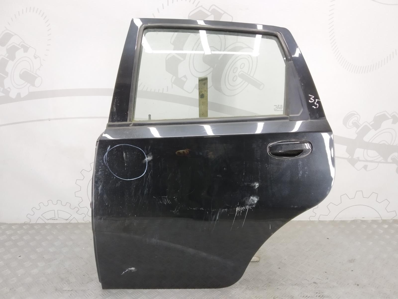 Дверь задняя левая Chevrolet Aveo T250 1.4 I 2008 (б/у)
