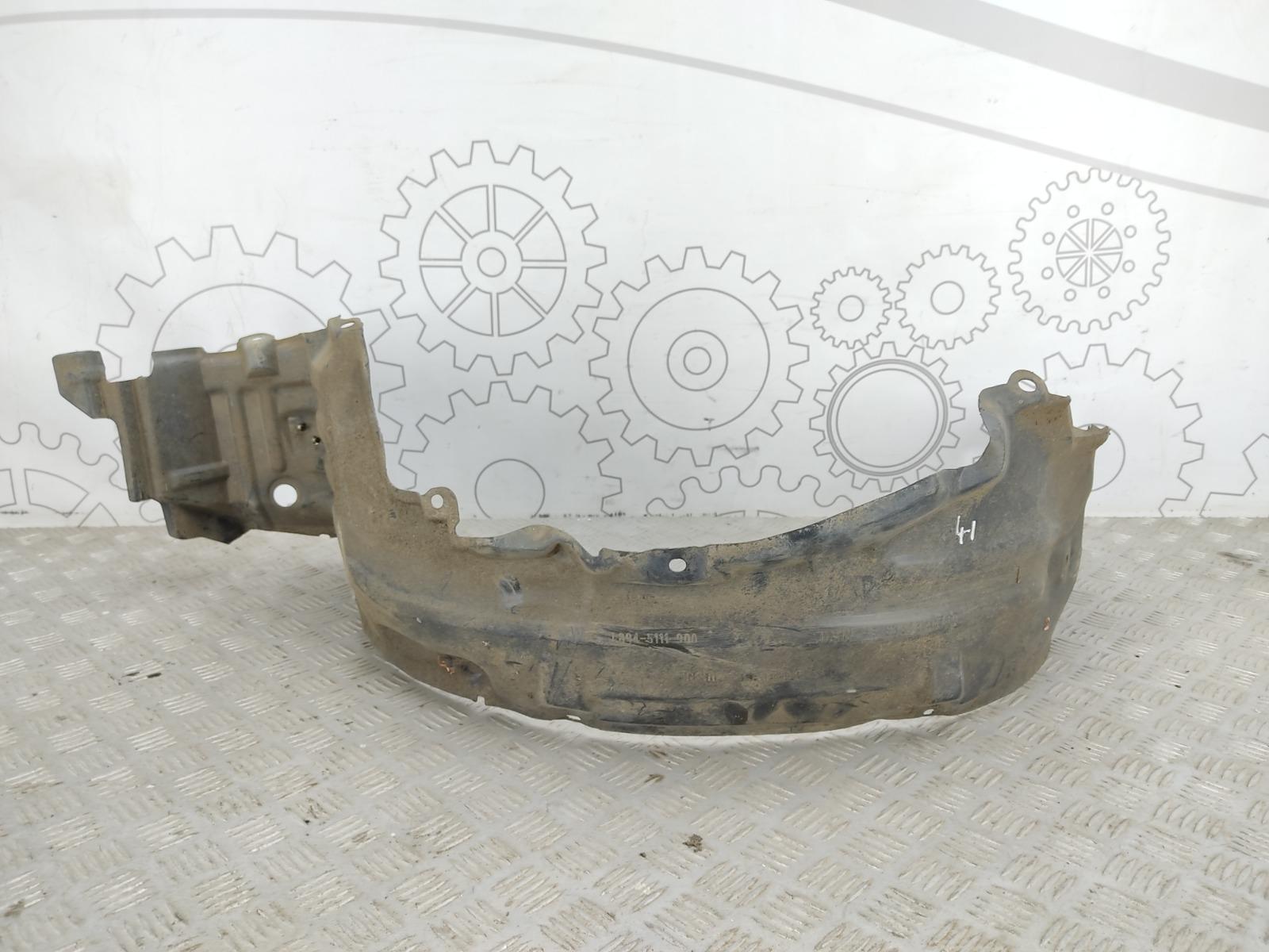Защита арок передняя левая (подкрылок) Nissan Almera N16 1.5 I 2006 (б/у)