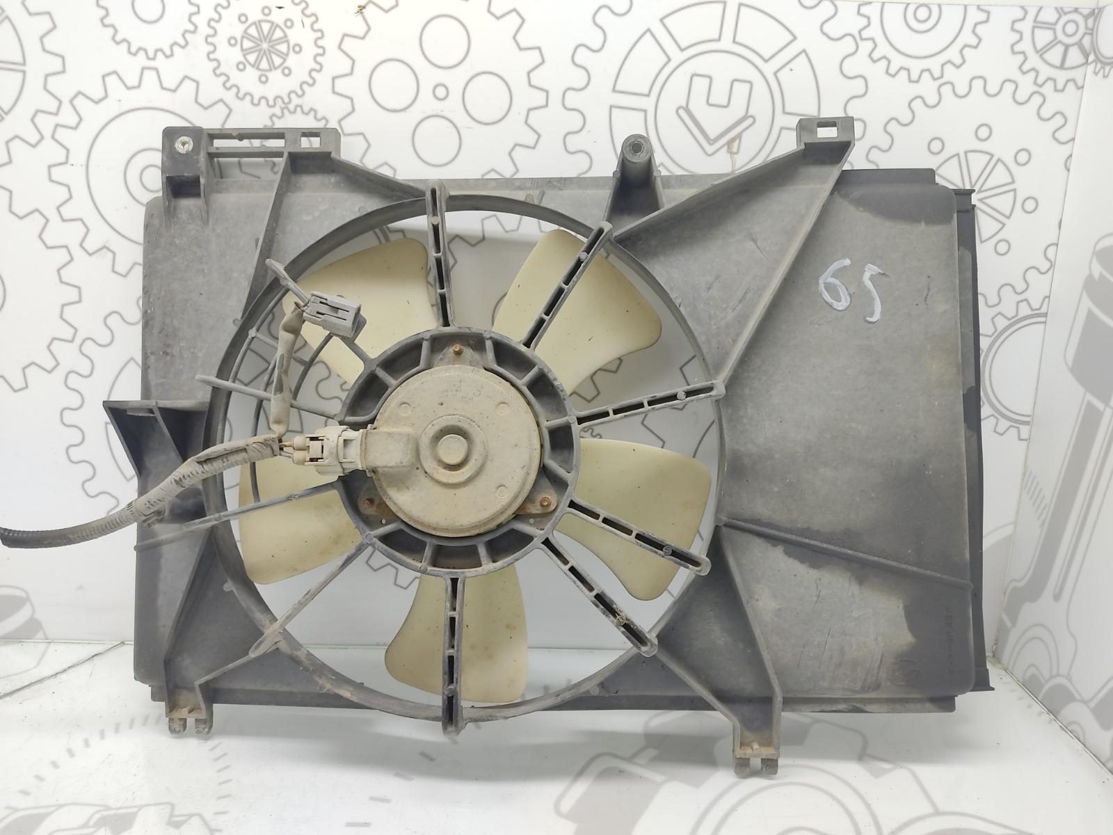 Вентилятор радиатора Mazda 2 1.5 I 2008 (б/у)