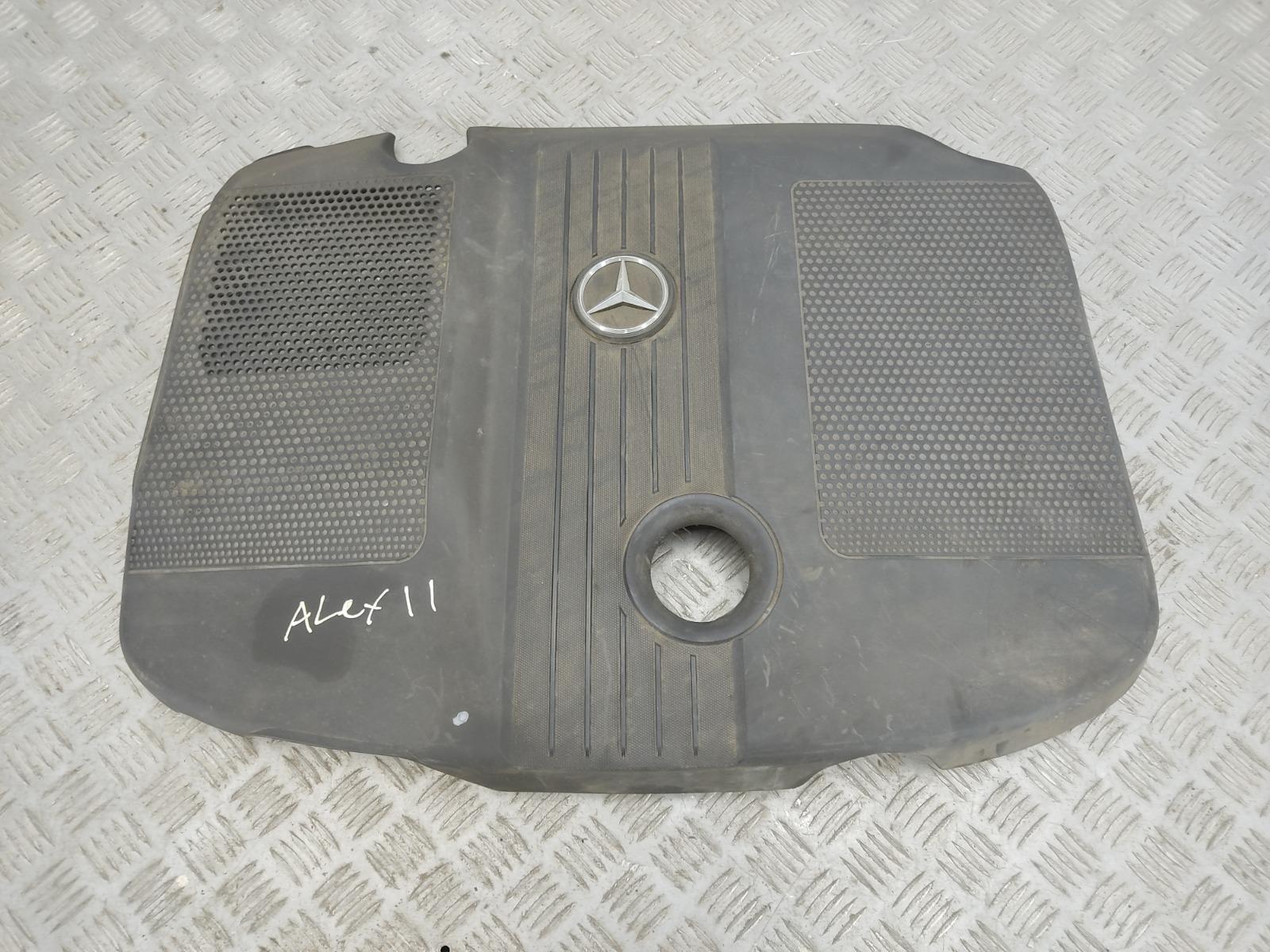 Декоративная крышка двигателя Mercedes C W204 2.2 CDI 2010 (б/у)