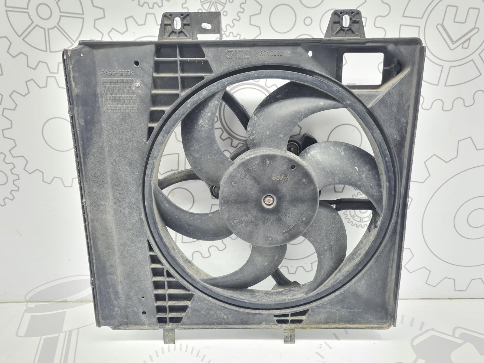Вентилятор радиатора Peugeot 207 1.4 I 2008 (б/у)