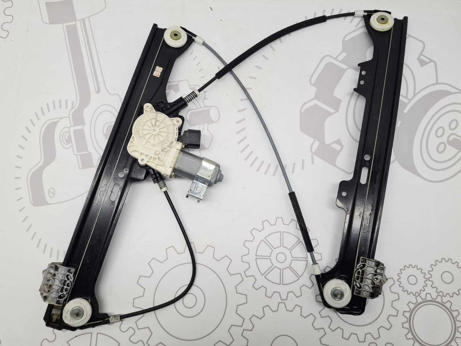 Стеклоподъемник передний левый Bmw 5 E60 2.5 I 2004 (б/у)