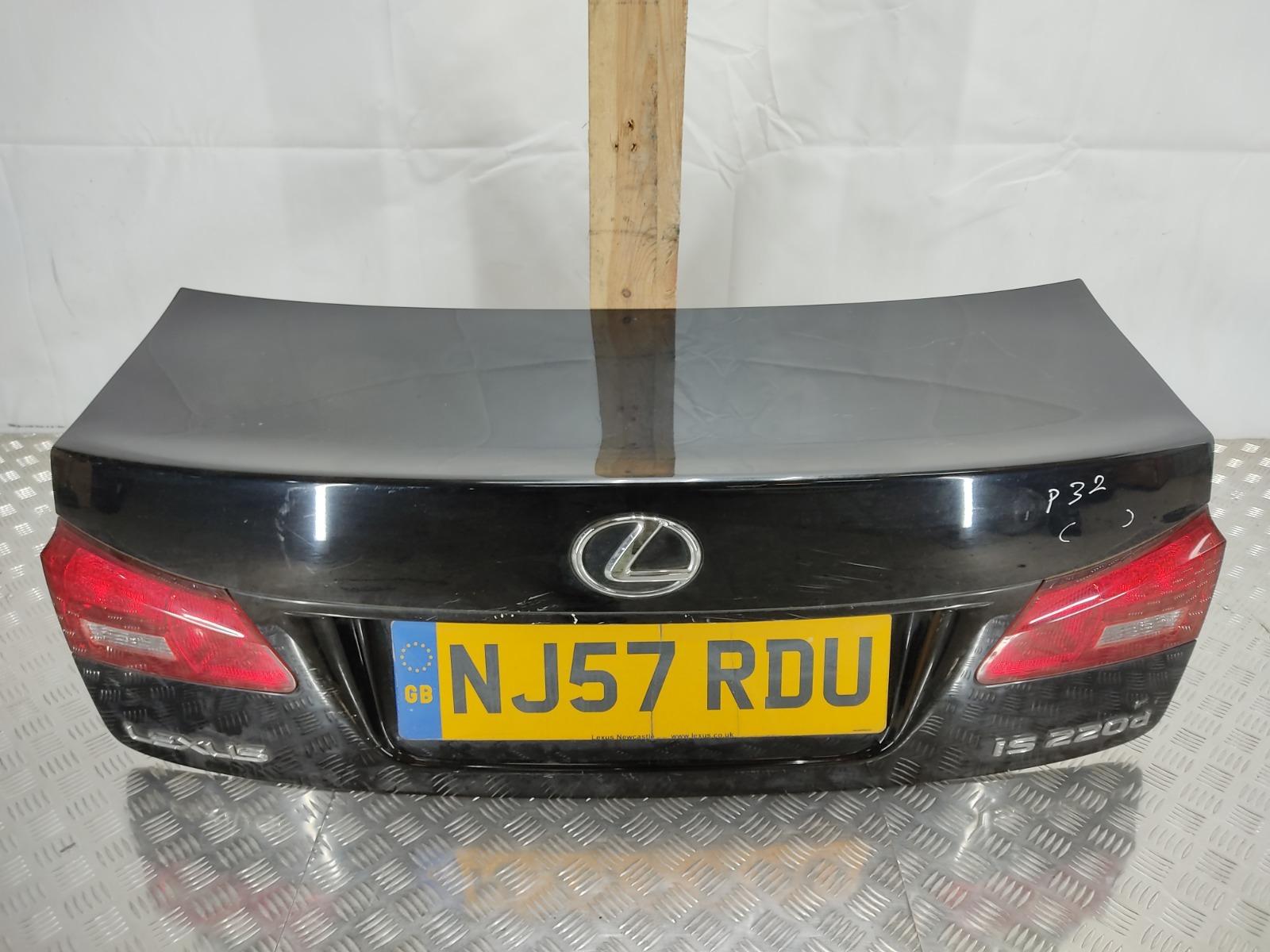 Крышка багажника Lexus Is 2.2 TD 2007 (б/у)