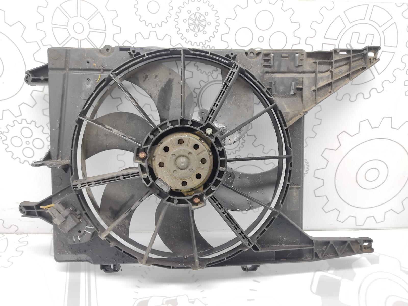 Вентилятор радиатора Renault Scenic 1.6 I 2002 (б/у)