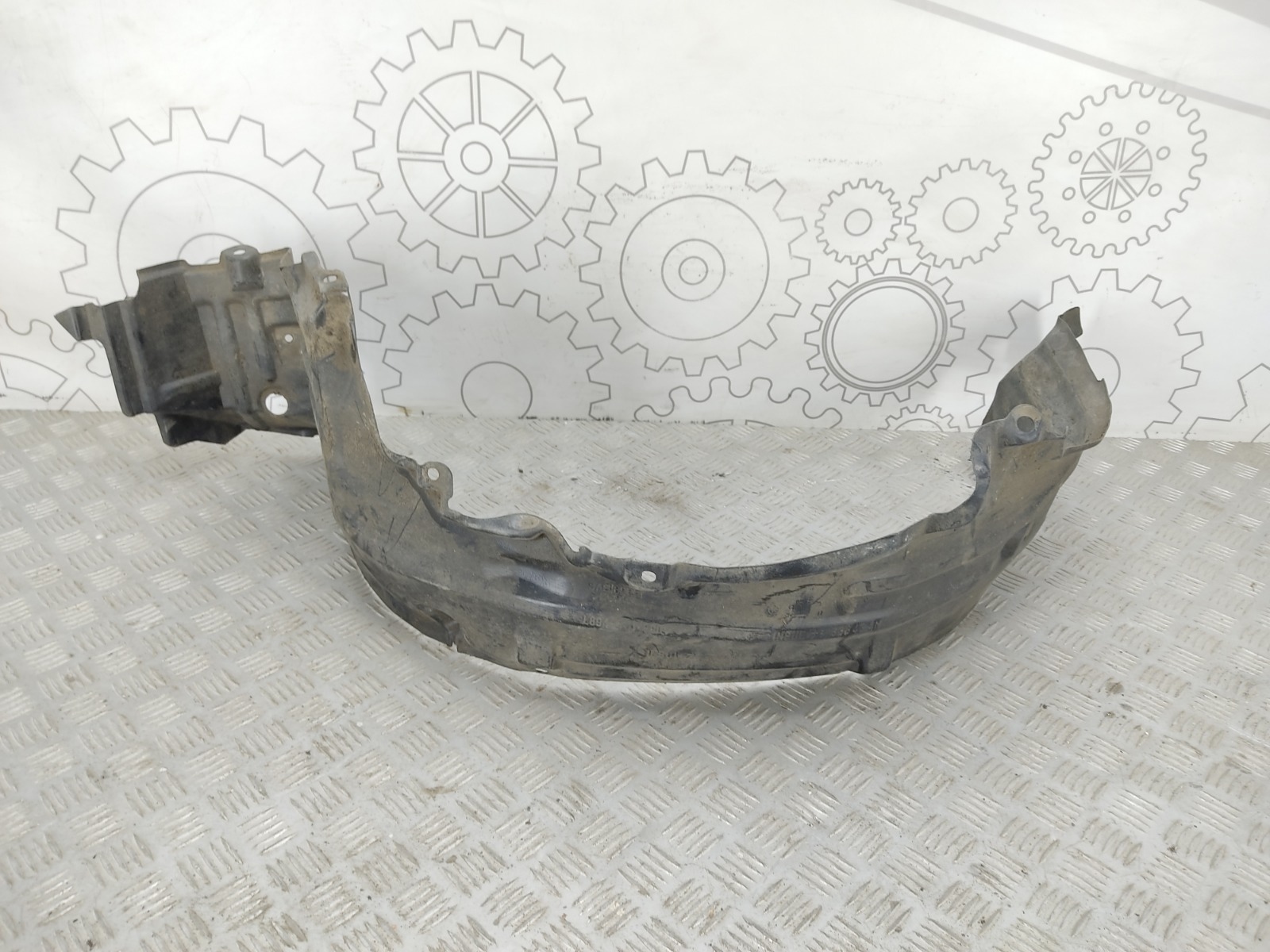 Защита арок передняя левая (подкрылок) Nissan Almera N16 1.5 I 2004 (б/у)