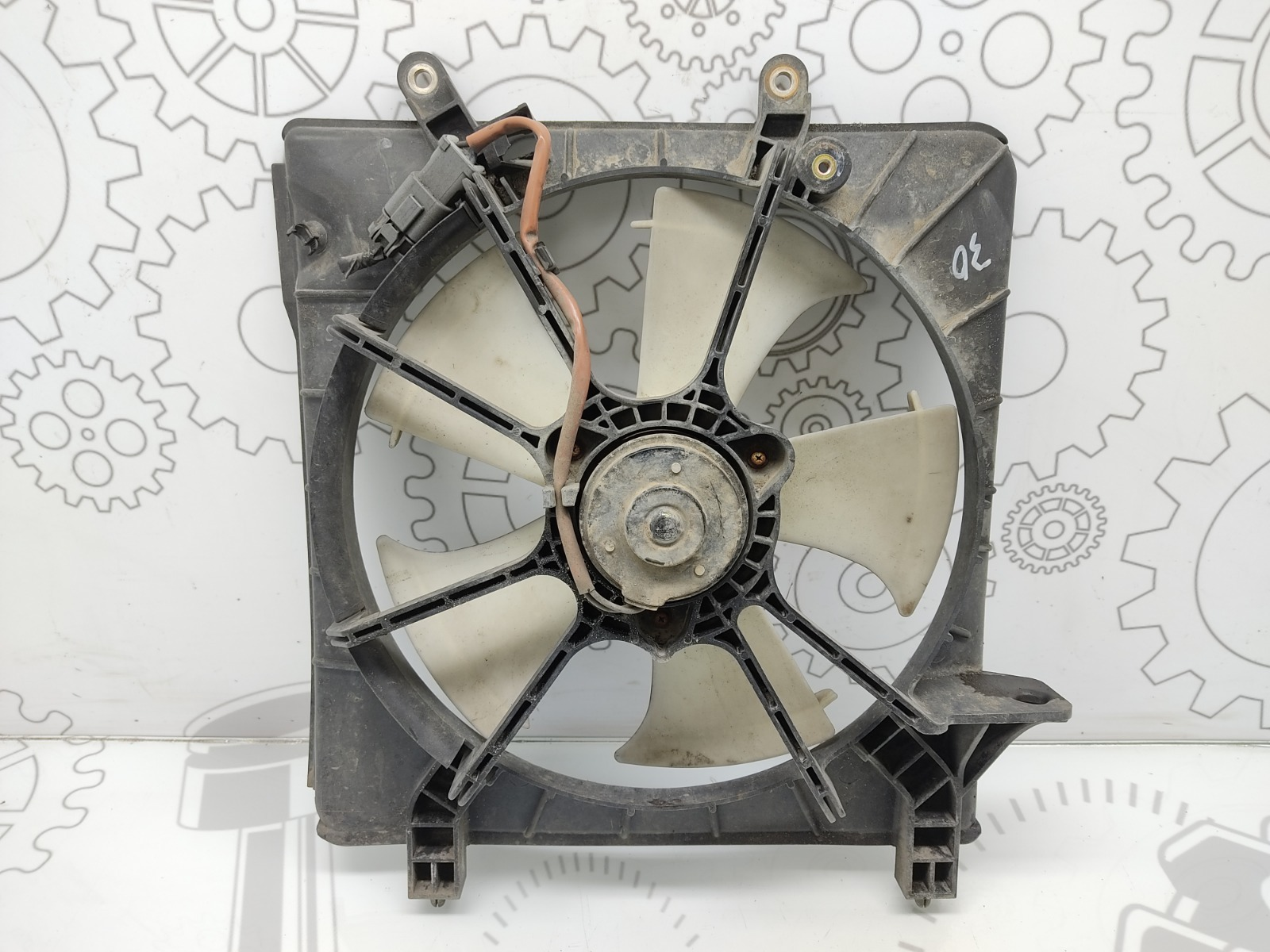 Вентилятор радиатора Honda Accord MK6 2.0 I 2003 (б/у)