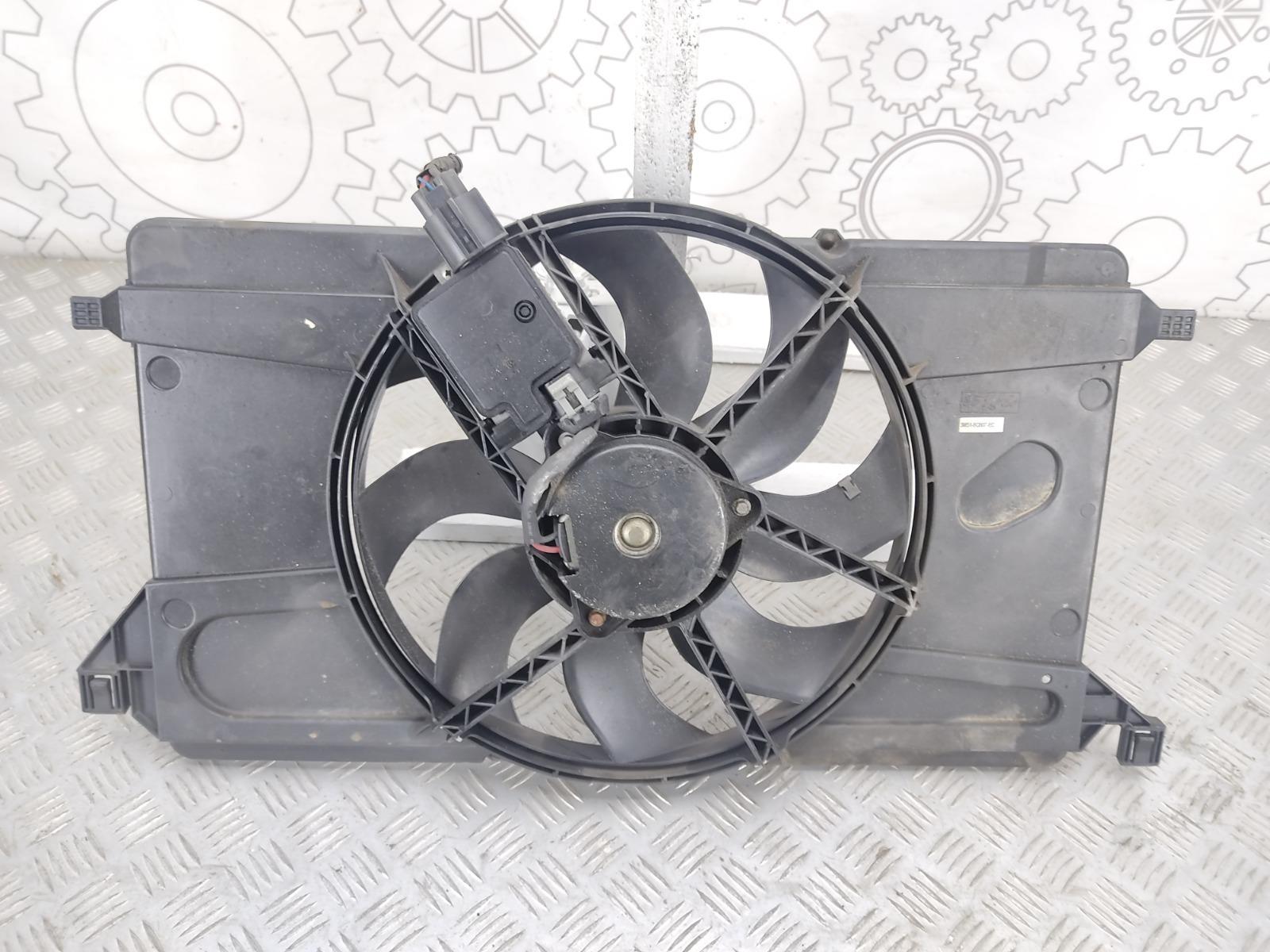 Вентилятор радиатора Ford Focus 1.6 I 2008 (б/у)
