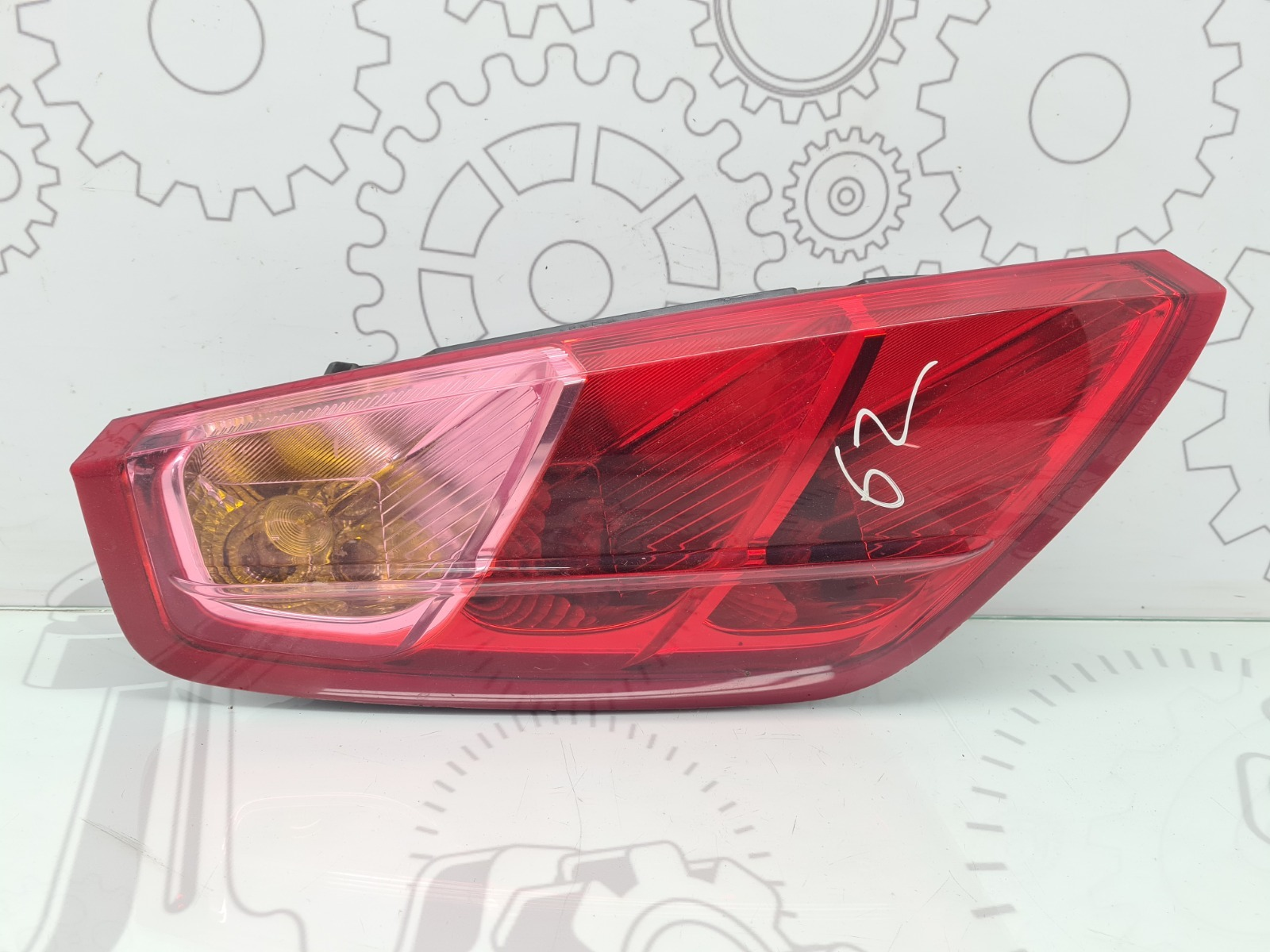 Фонарь задний левый Fiat Punto 3 1.2 I 2007 (б/у)