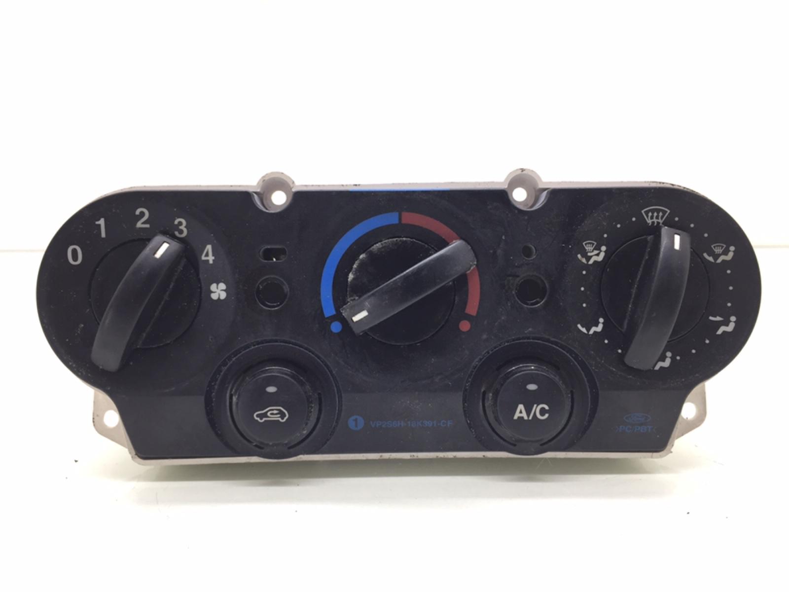 Блок управления печки/климат-контроля Ford Fiesta 1.4 I 2007 (б/у)