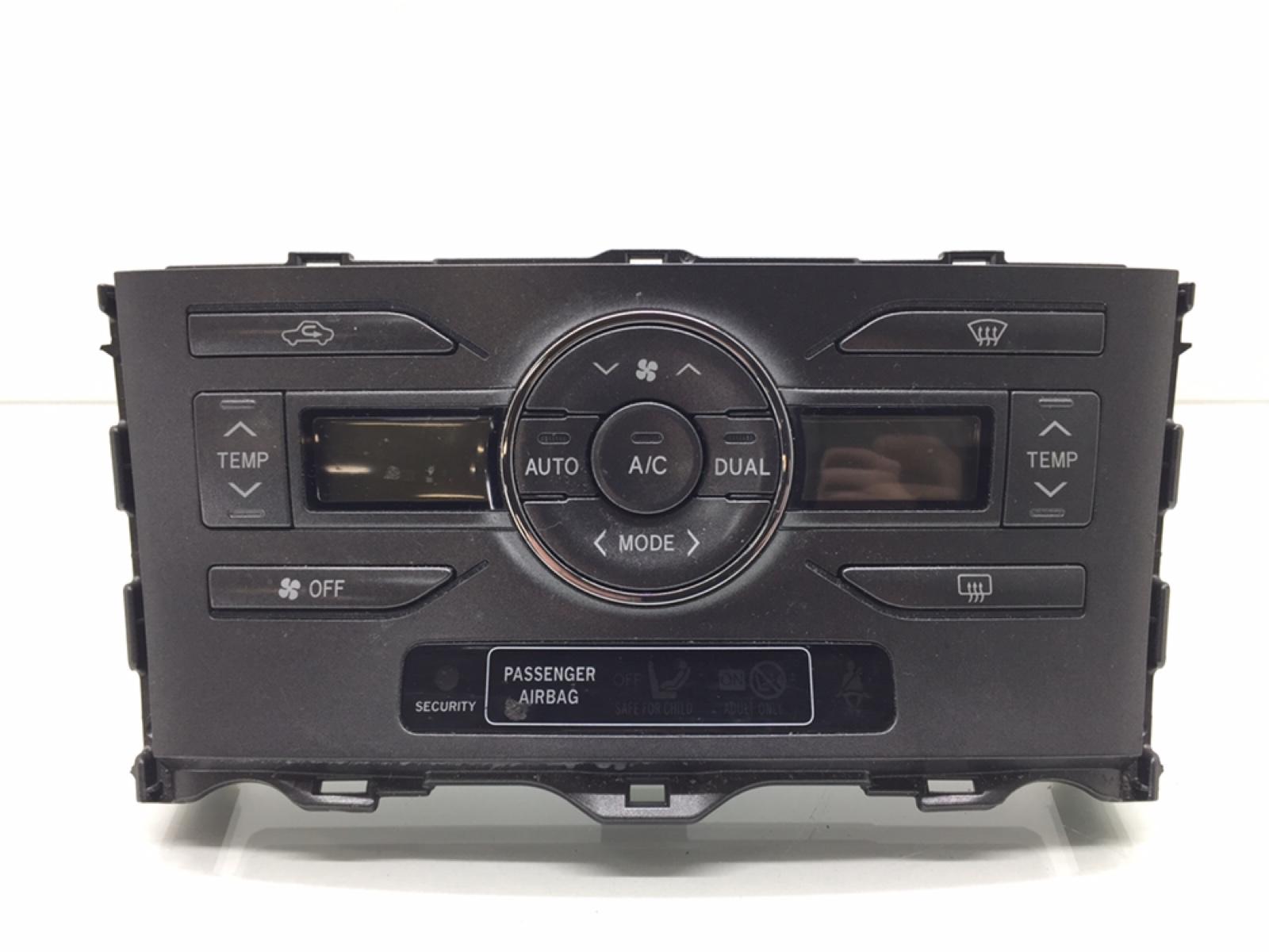 Блок управления печки/климат-контроля Toyota Auris 1.6 I 2007 (б/у)