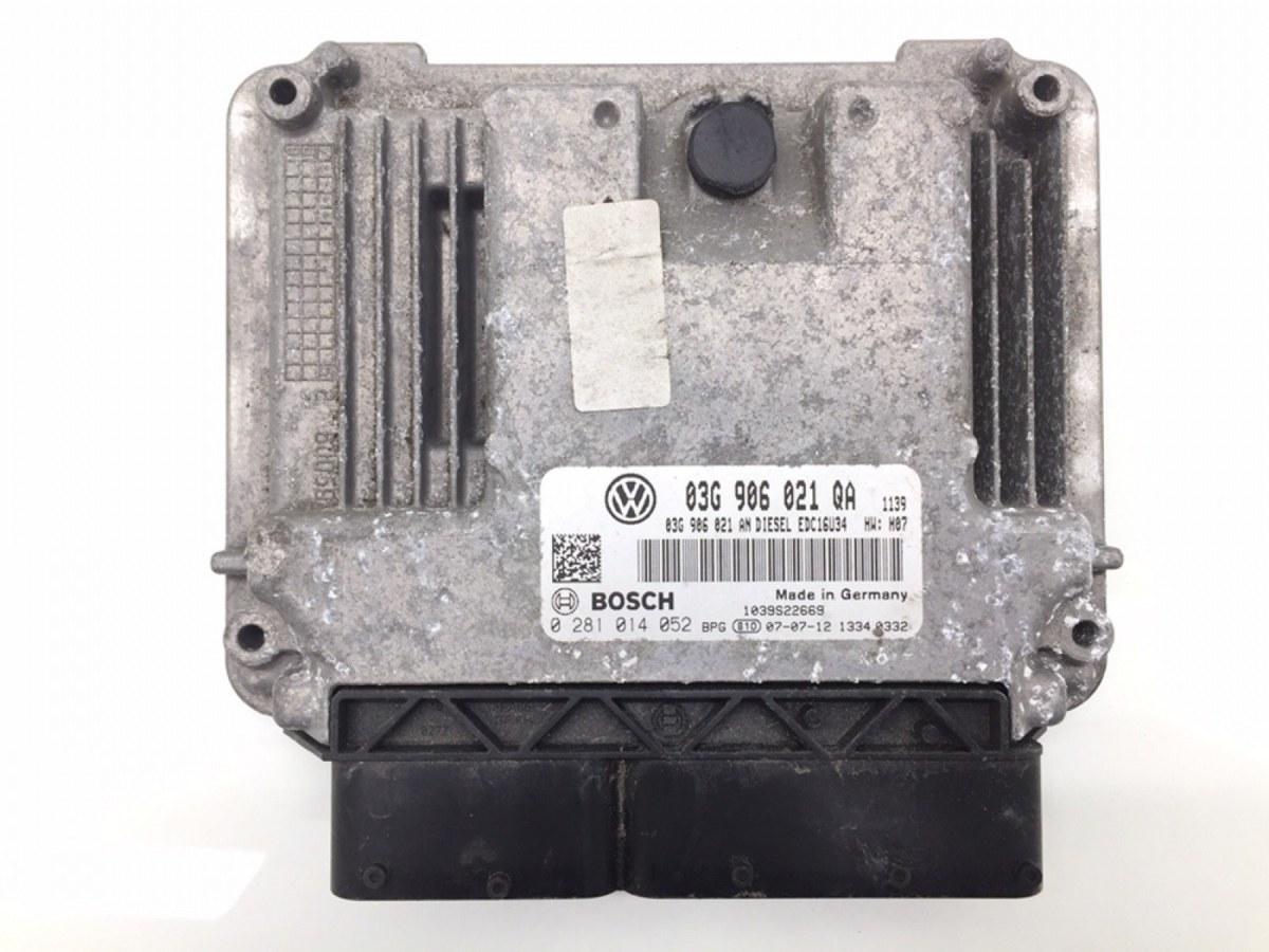 Блок управления двигателем Volkswagen Golf Plus 1.9 TDI 2008 (б/у)