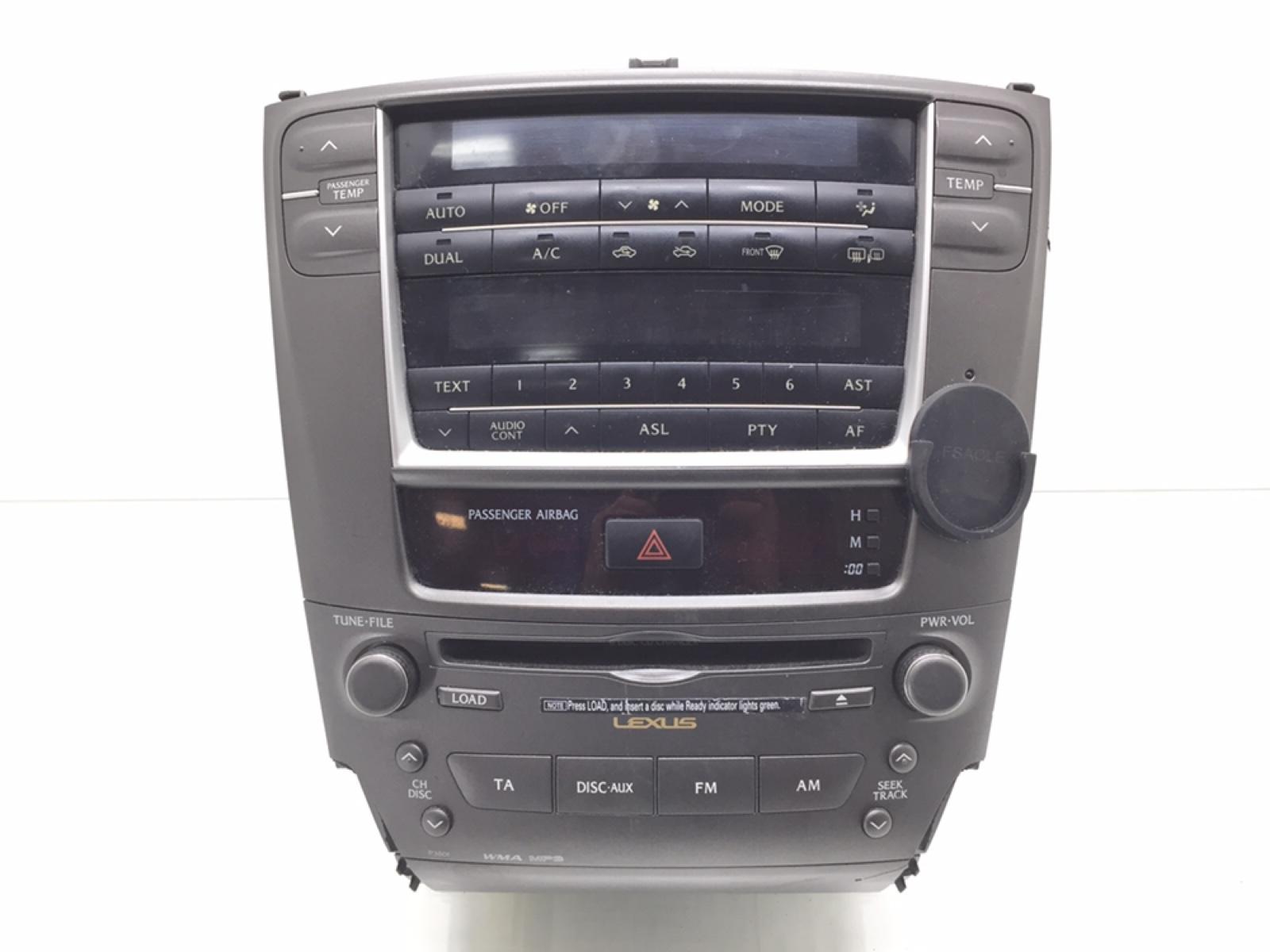 Магнитола Lexus Is 2.2 TD 2007 (б/у)