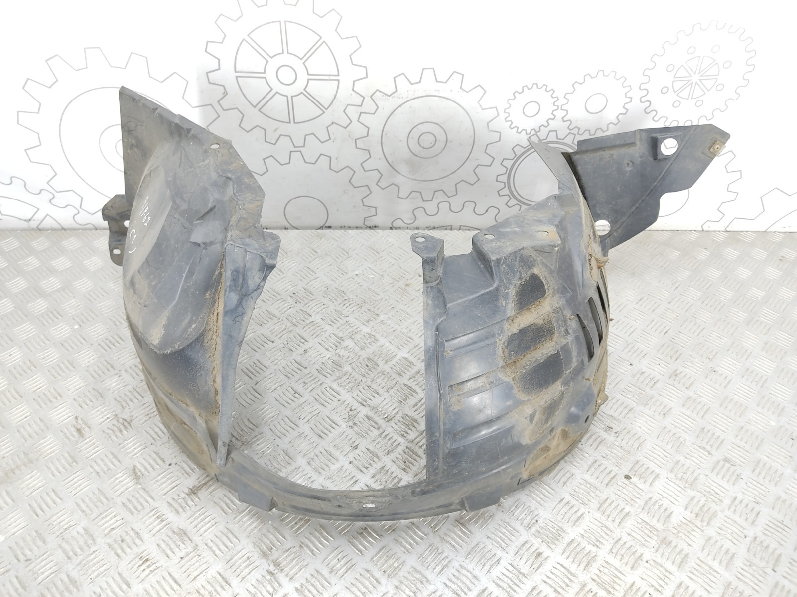 Защита арок передняя правая (подкрылок) Nissan Qashqai 1.5 DCI 2007 (б/у)