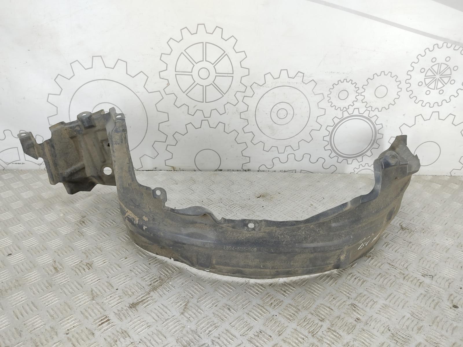 Защита арок передняя левая (подкрылок) Nissan Almera N16 1.5 I 2003 (б/у)