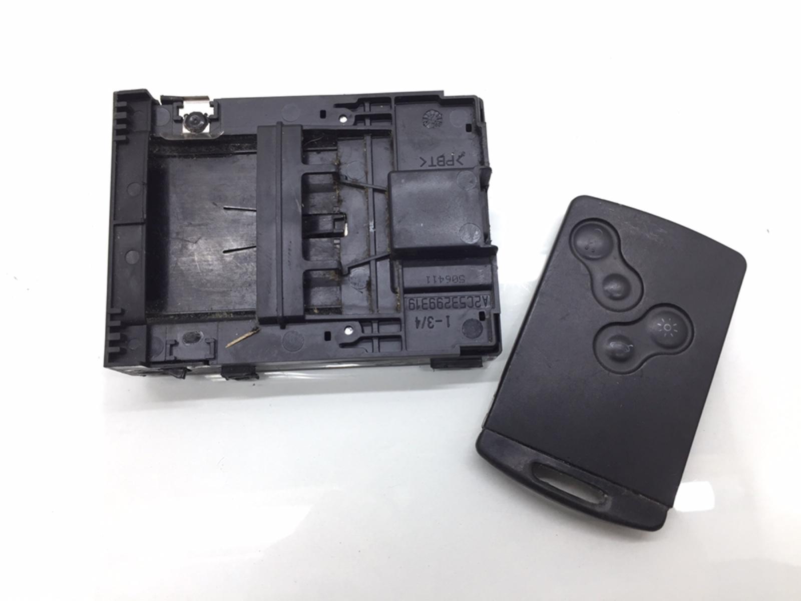 Блок считывания ключ-карты Renault Scenic 1.6 I 2011 (б/у)
