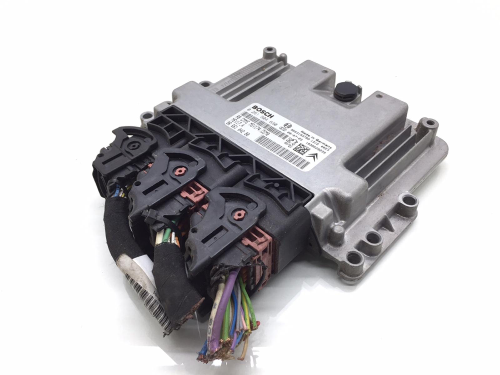 Блок управления двигателем Citroen C4 Grand Picasso 1.6 I 2008 (б/у)
