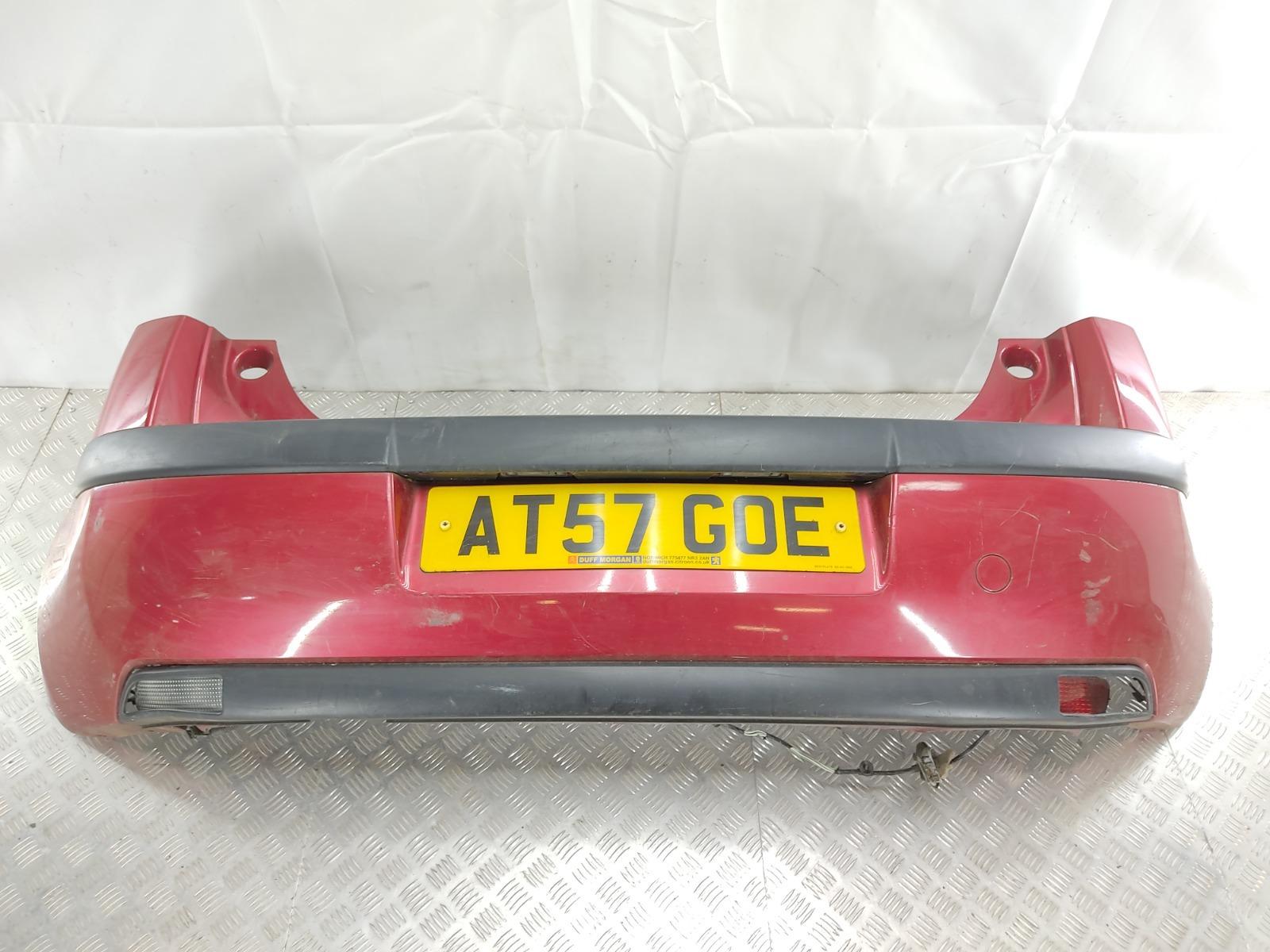 Бампер задний Citroen C4 1.4 I 2007 (б/у)