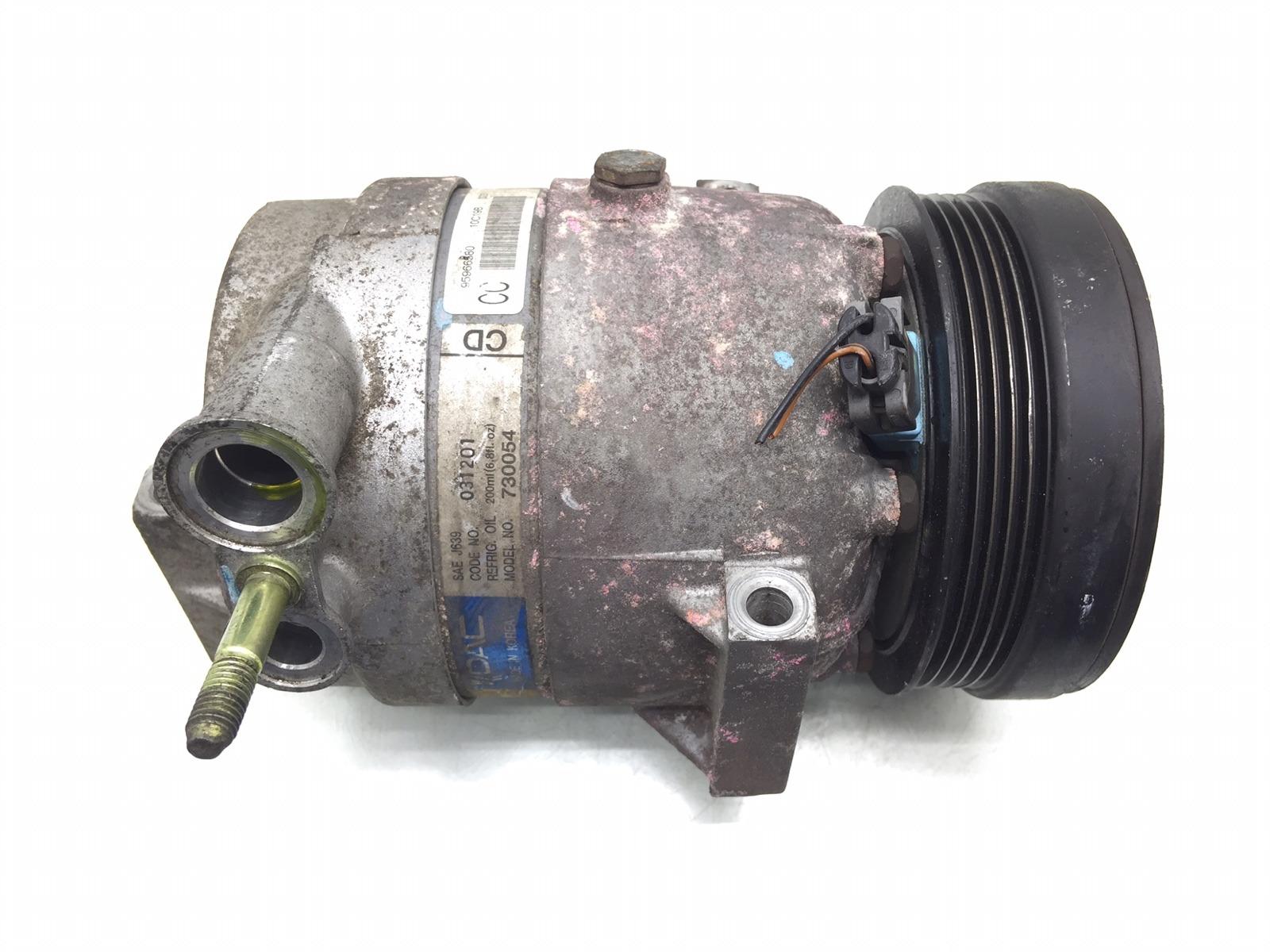 Компрессор кондиционера Chevrolet Aveo T250 1.4 I 2010 (б/у)