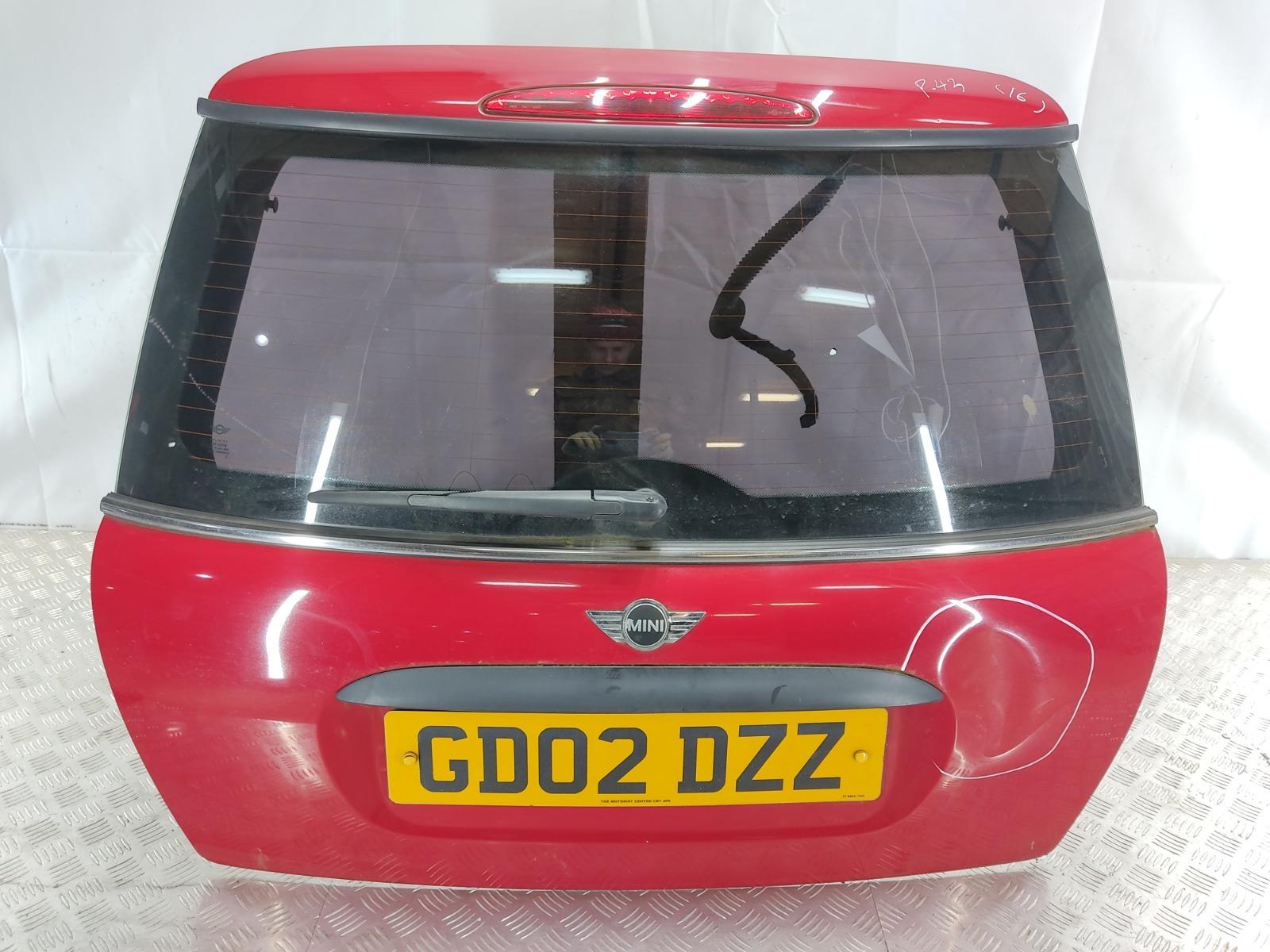 Крышка багажника (дверь 3-5) Mini Cooper R50 1.6 I 2002 (б/у)