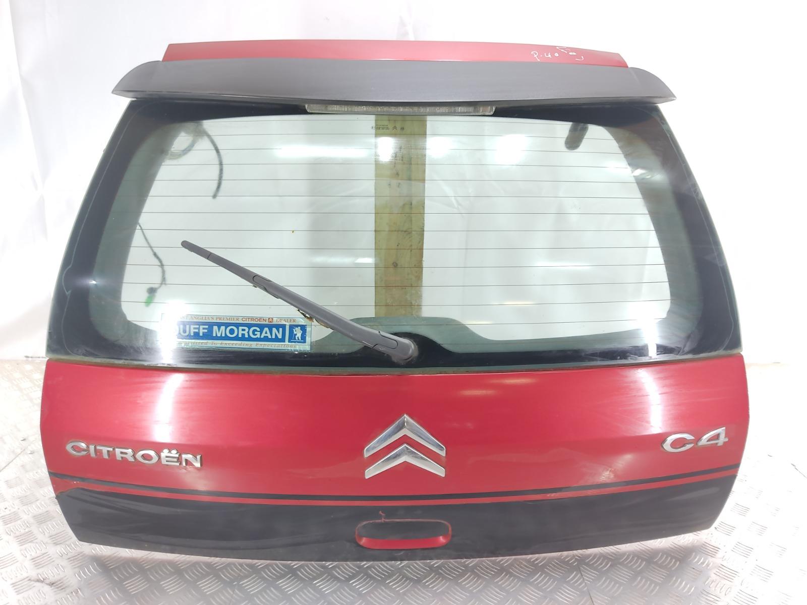 Крышка багажника (дверь 3-5) Citroen C4 1.4 I 2007 (б/у)