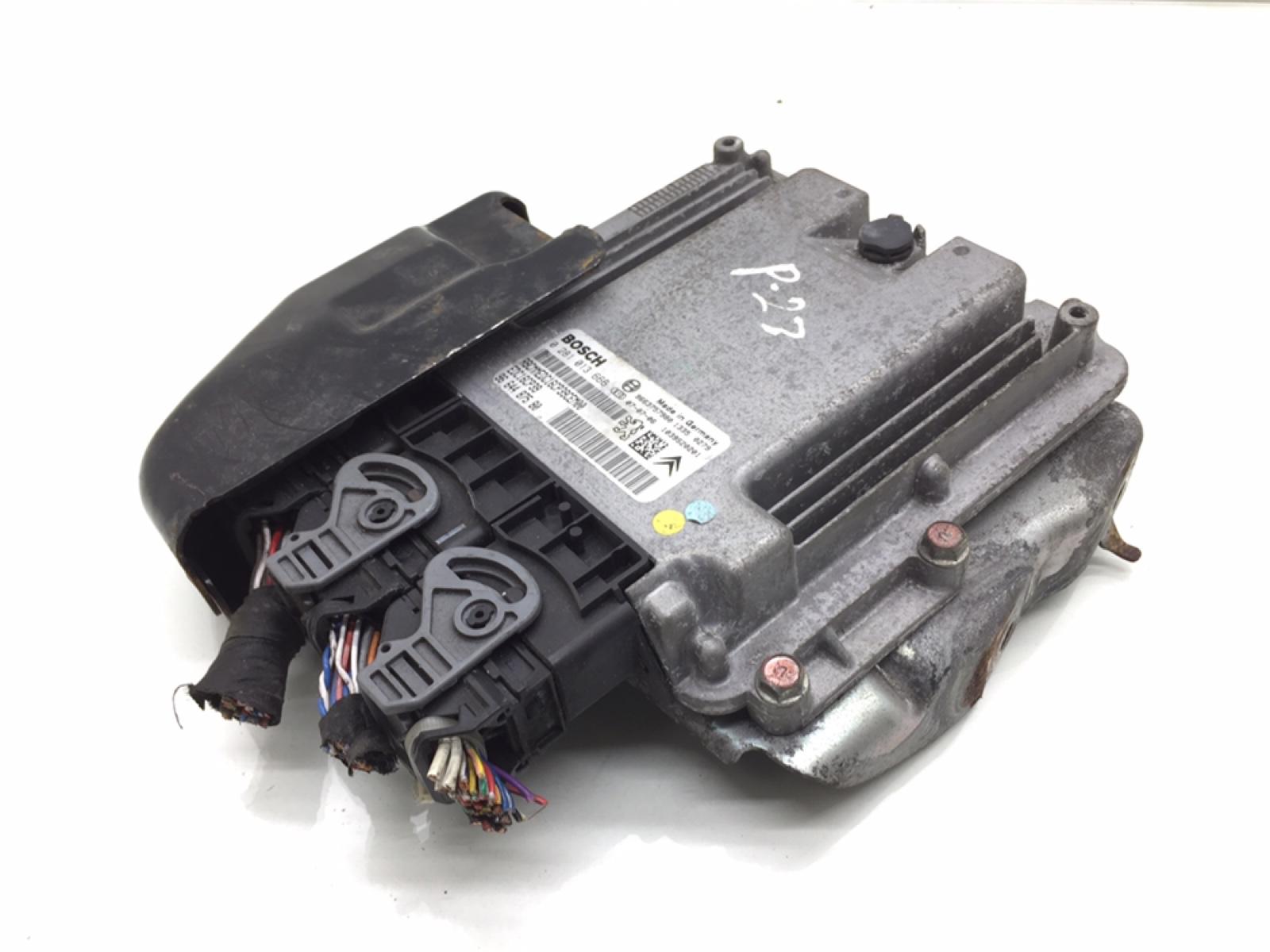 Блок управления двигателем Peugeot 4007 2.2 HDI 2008 (б/у)