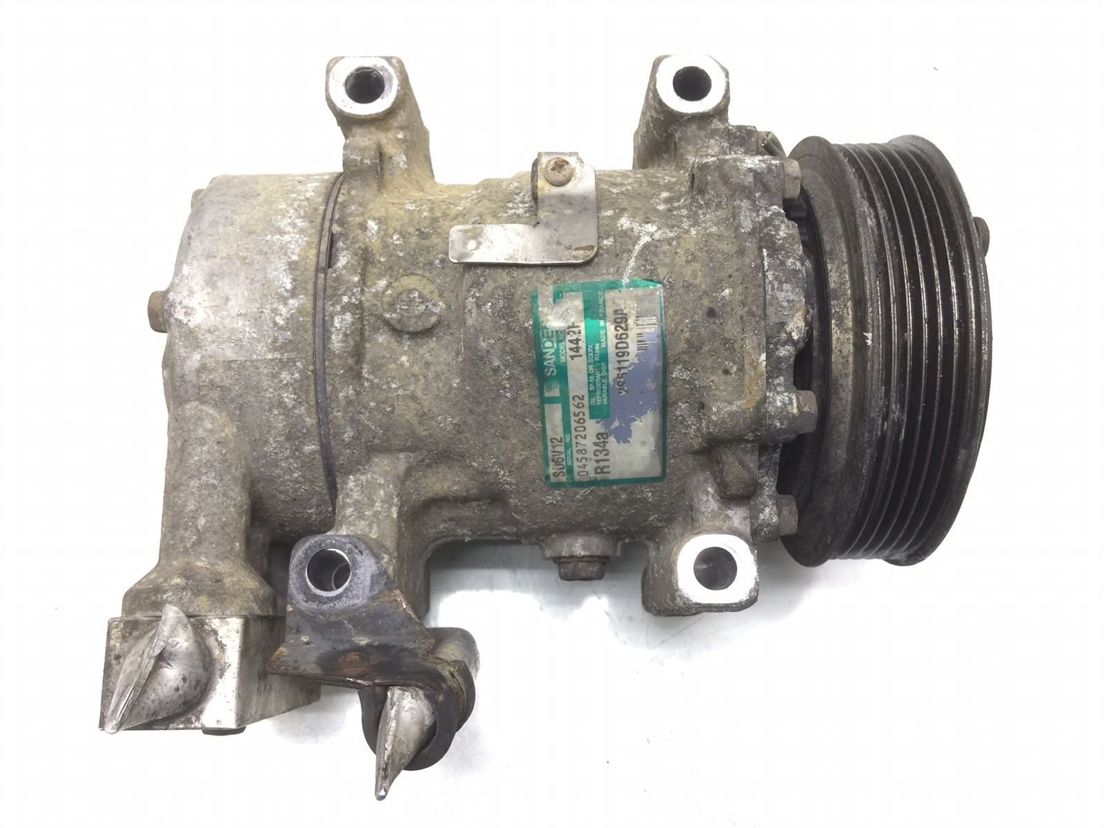Компрессор кондиционера Ford Fusion 1.4 TDCI 2005 (б/у)