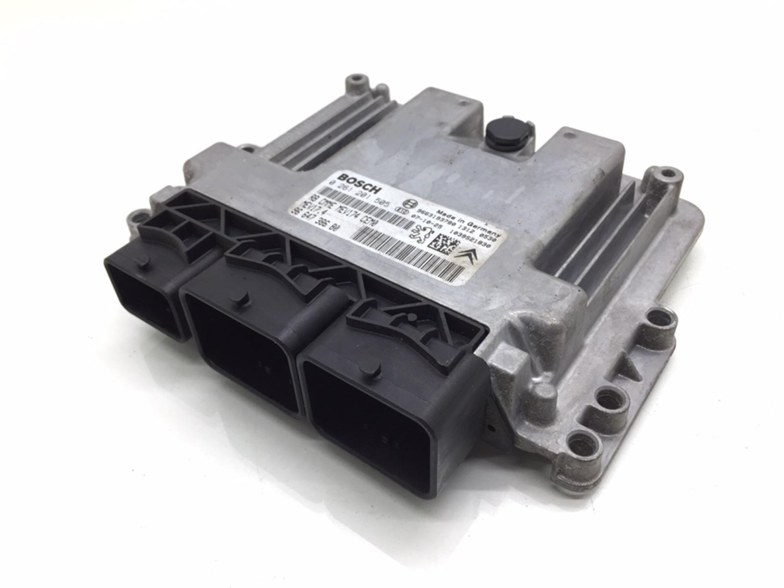 Блок управления двигателем Peugeot 207 1.6 I 2007 (б/у)