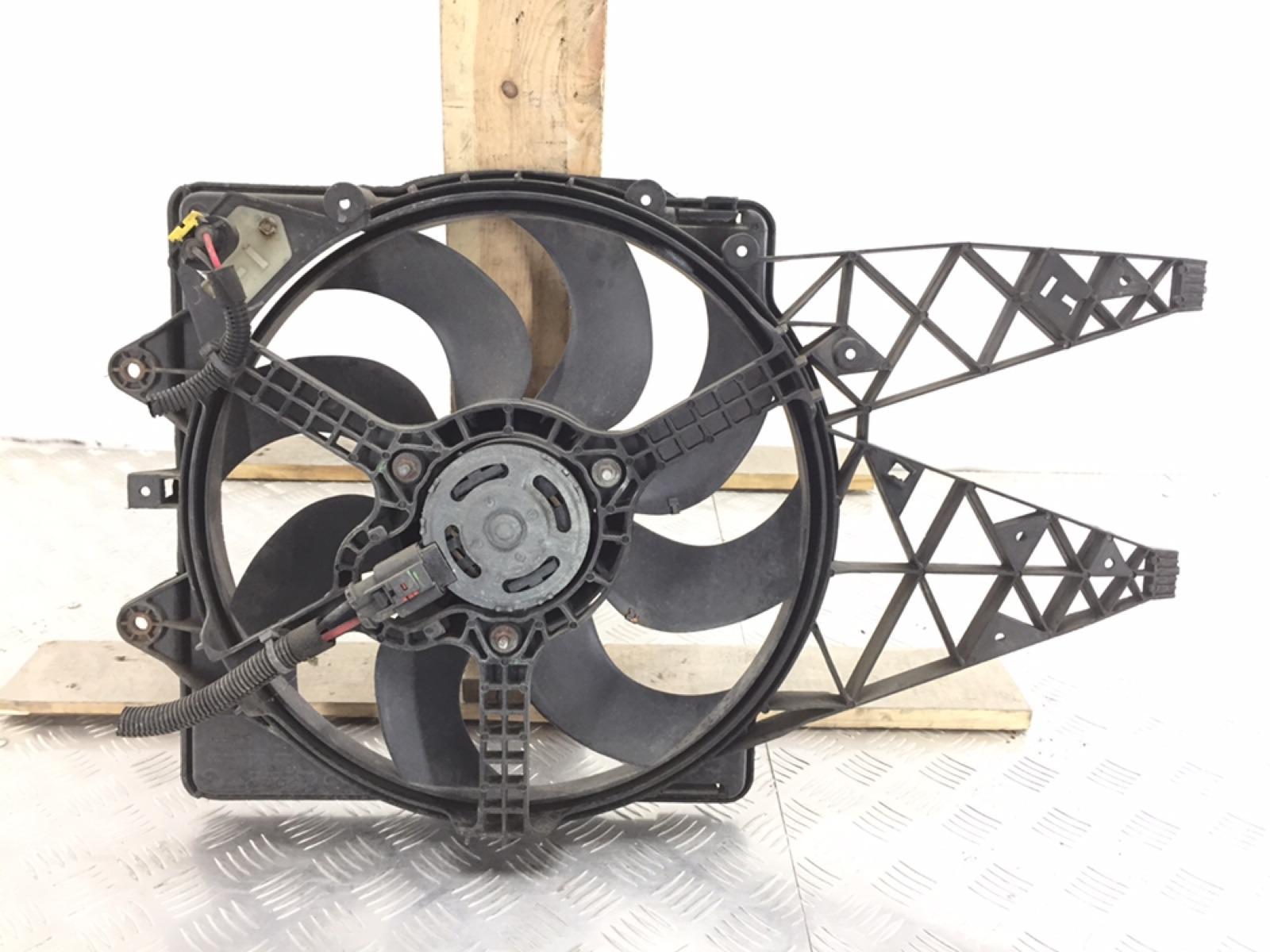 Вентилятор радиатора Fiat Bravo 1.4 I 2007 (б/у)