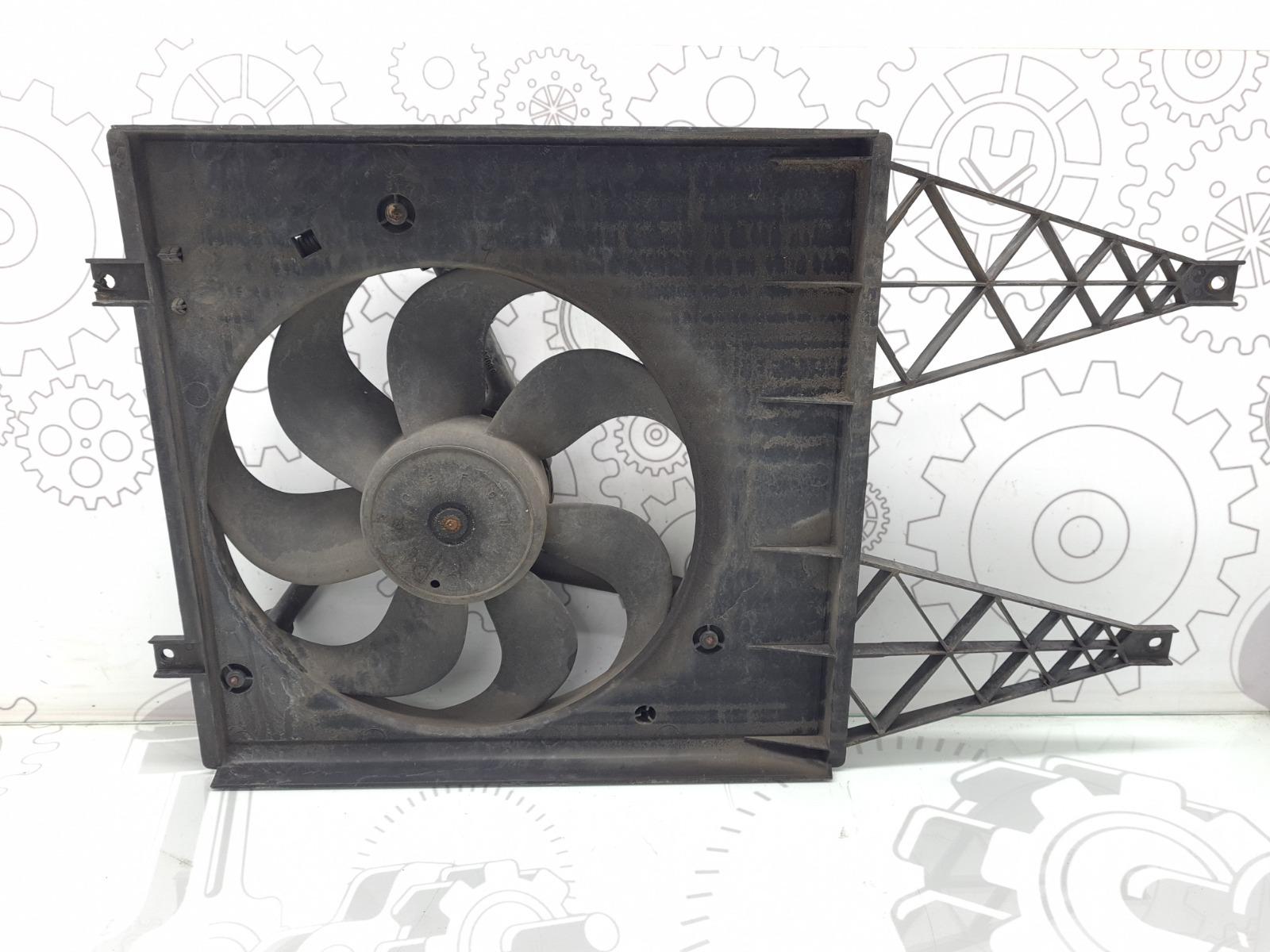 Вентилятор радиатора Skoda Fabia 1.9 SDI 2003 (б/у)