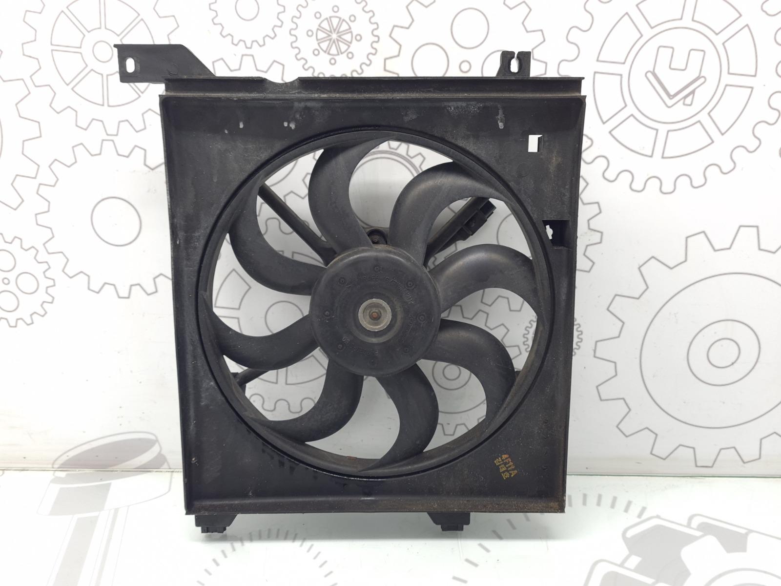 Вентилятор радиатора Kia Cerato 1 1.6 I 2004 (б/у)
