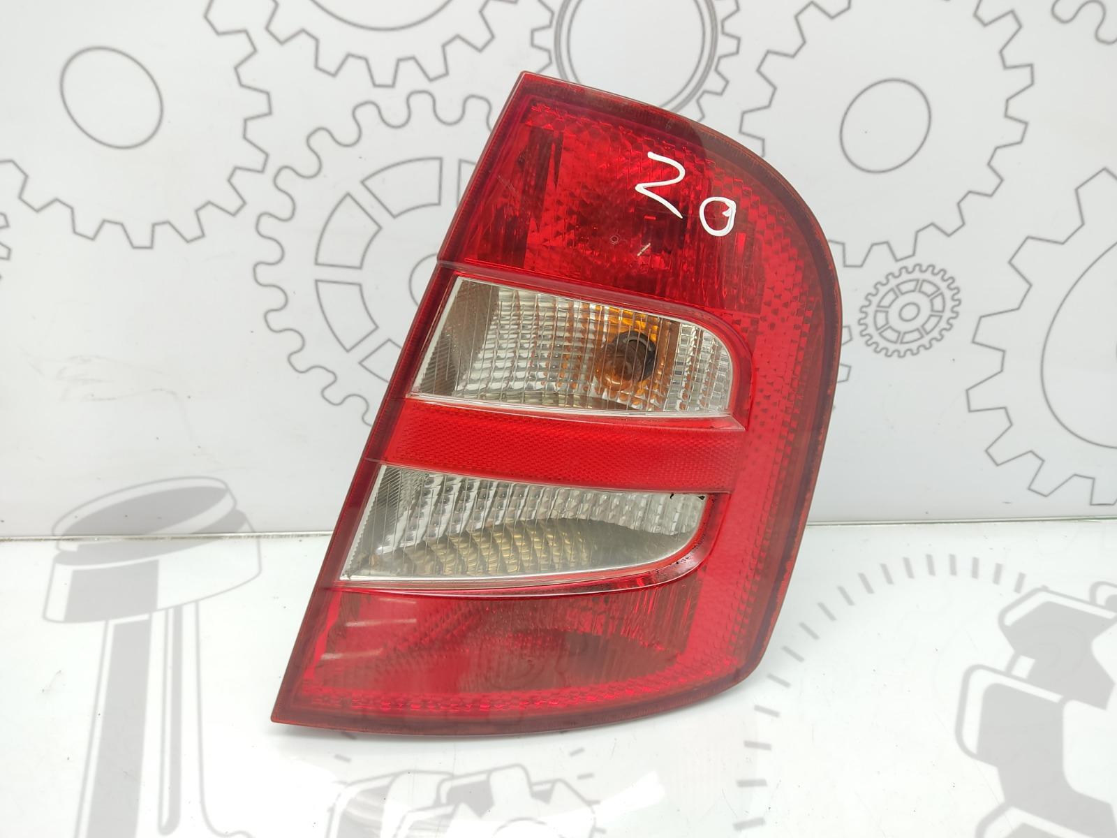 Фонарь задний правый Skoda Fabia 1.9 SDI 2003 (б/у)
