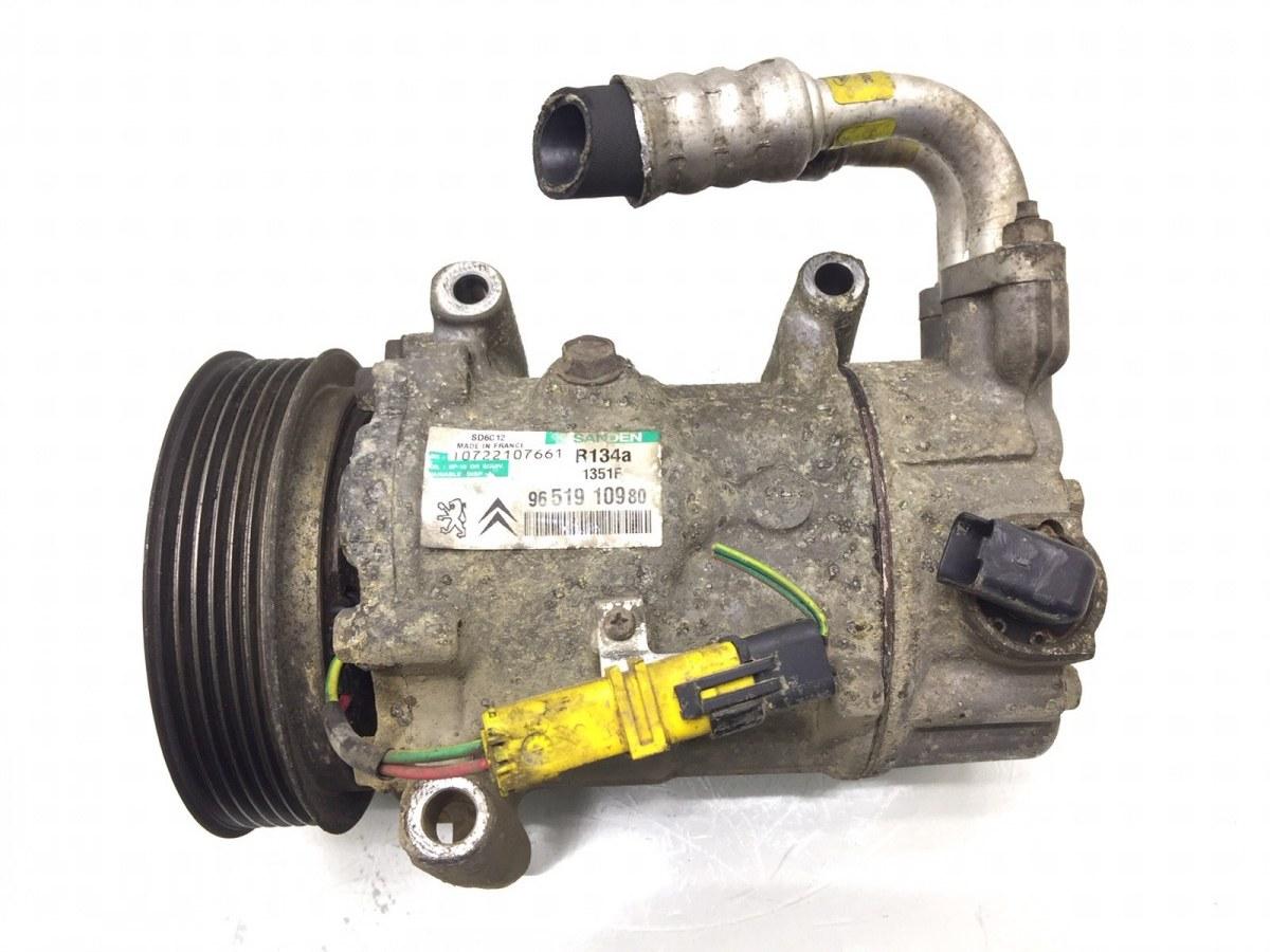 Компрессор кондиционера Peugeot 307 1.6 I 2006 (б/у)
